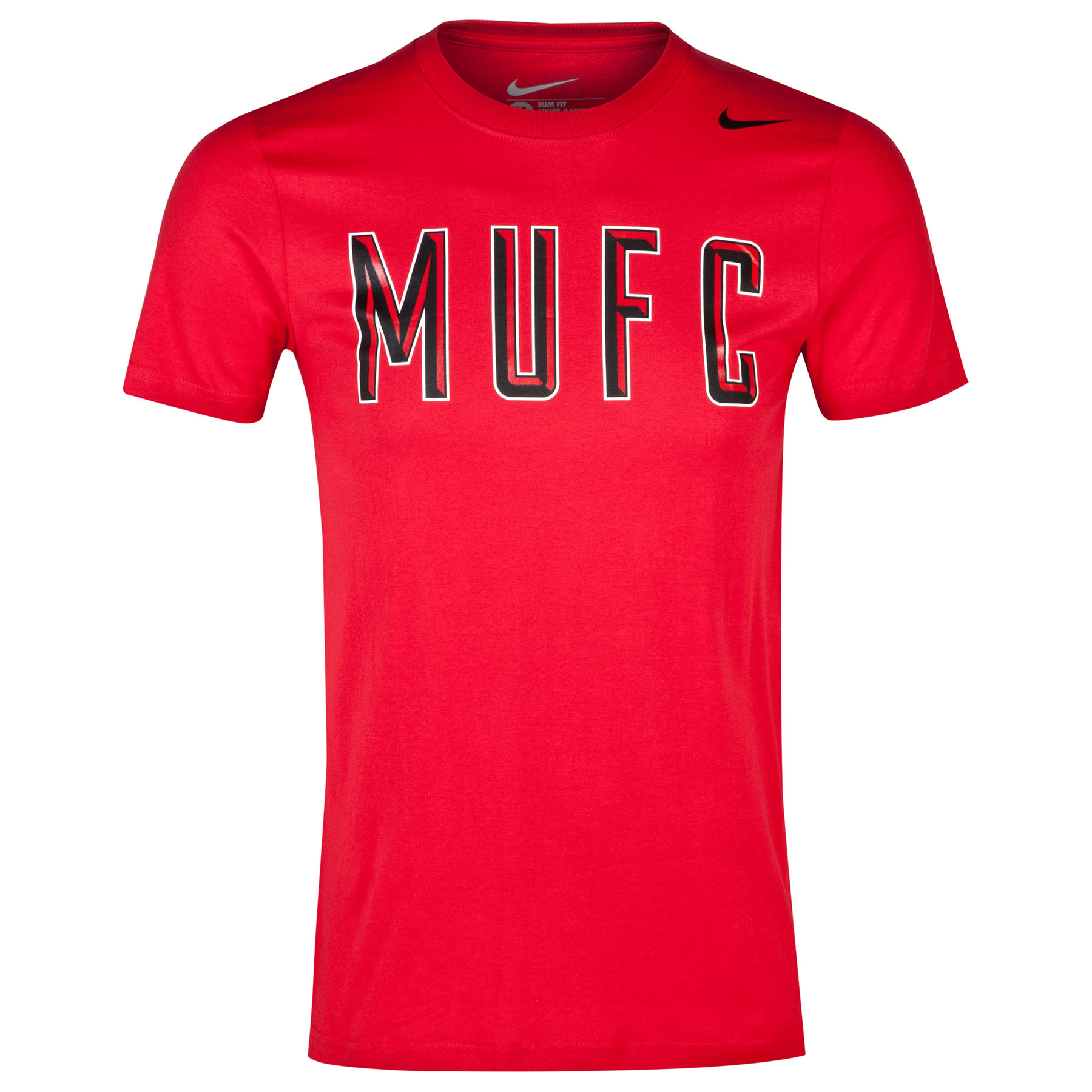 Manchester United Core Plus T-Shirt-Red Red