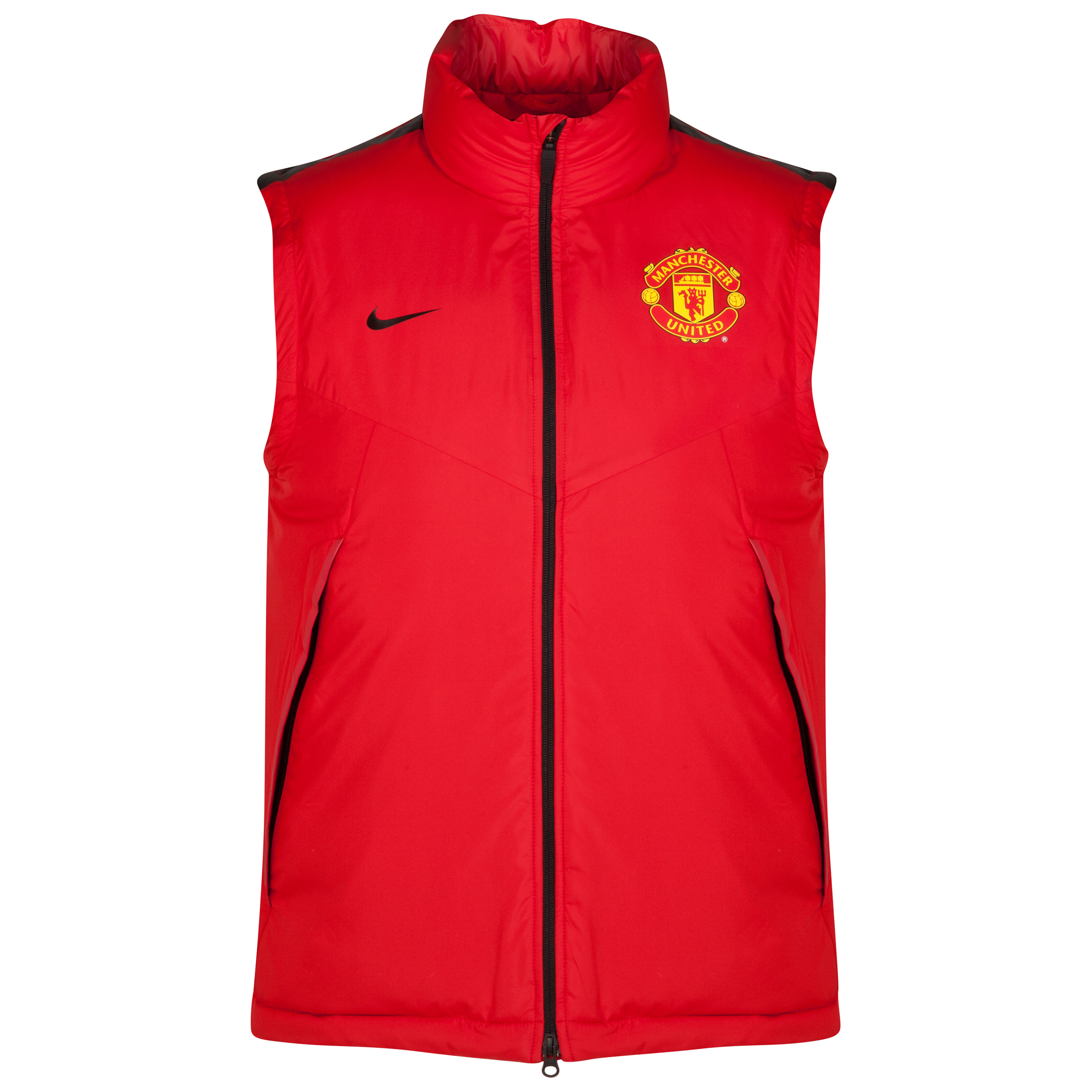 Manchester United Core Padded Vest-Red