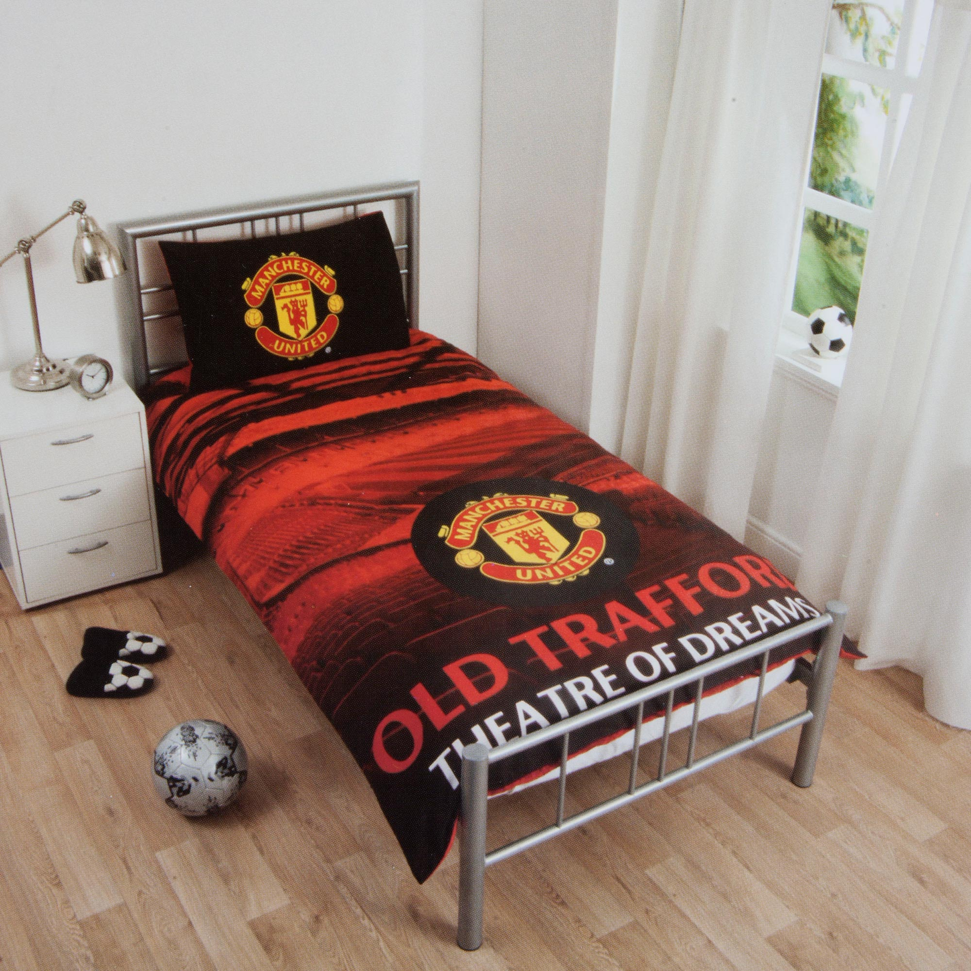 Manchester United Stadium Duvet Set - Single