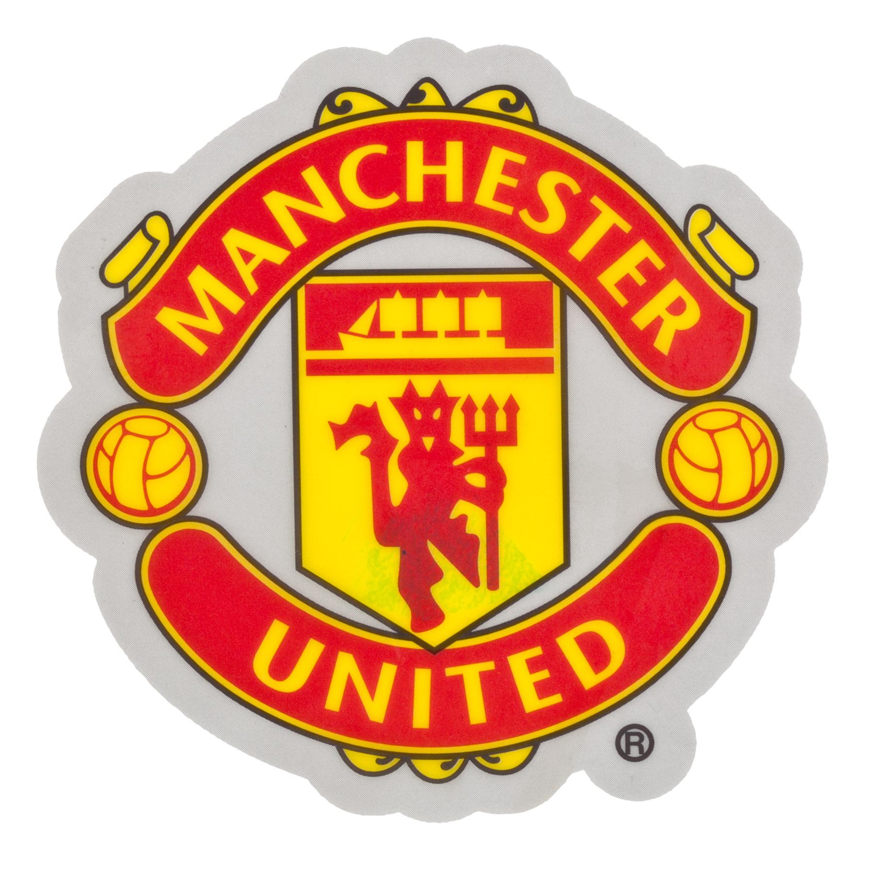 Manchester United Car Crest Sticker
