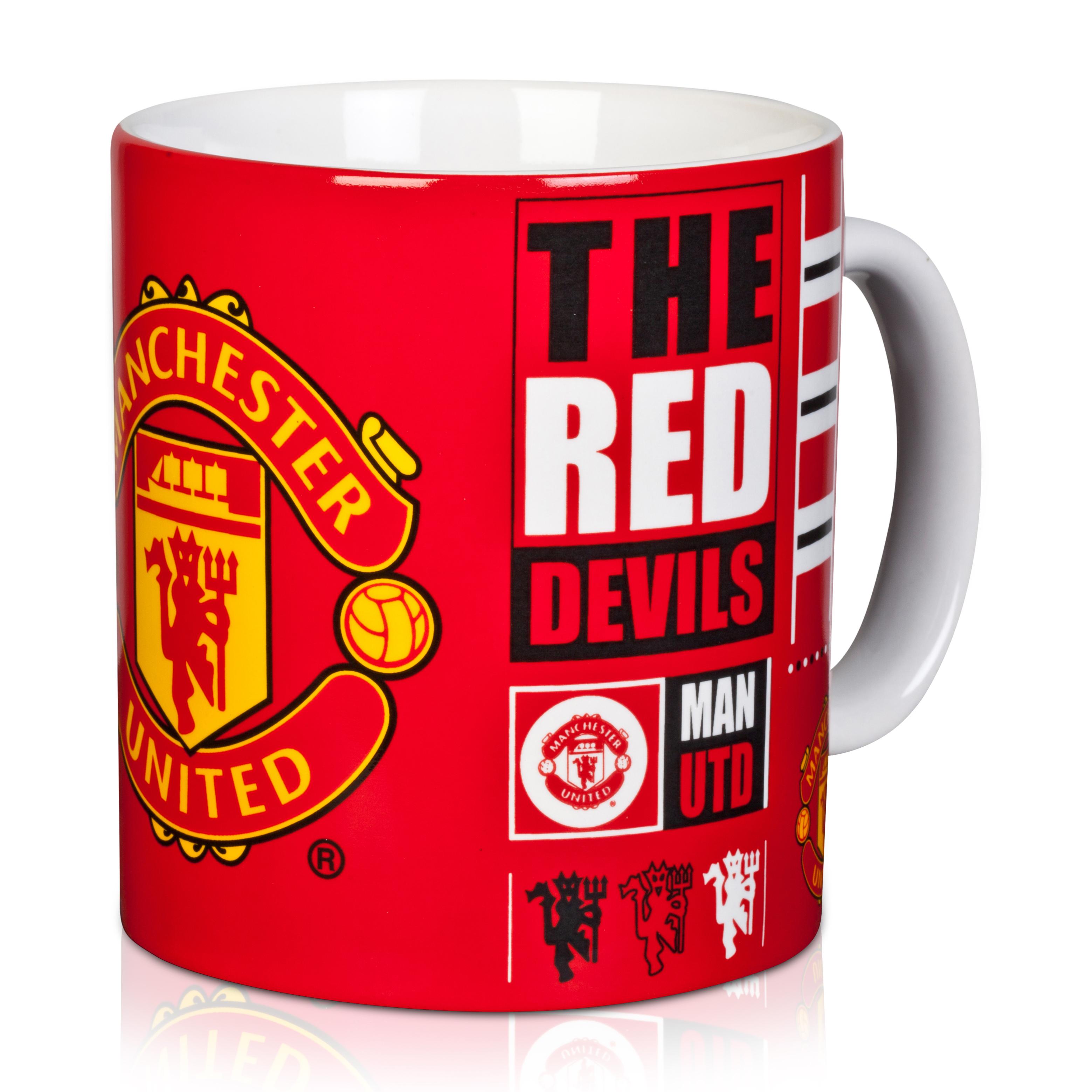 Manchester United Tag Jumbo Mug