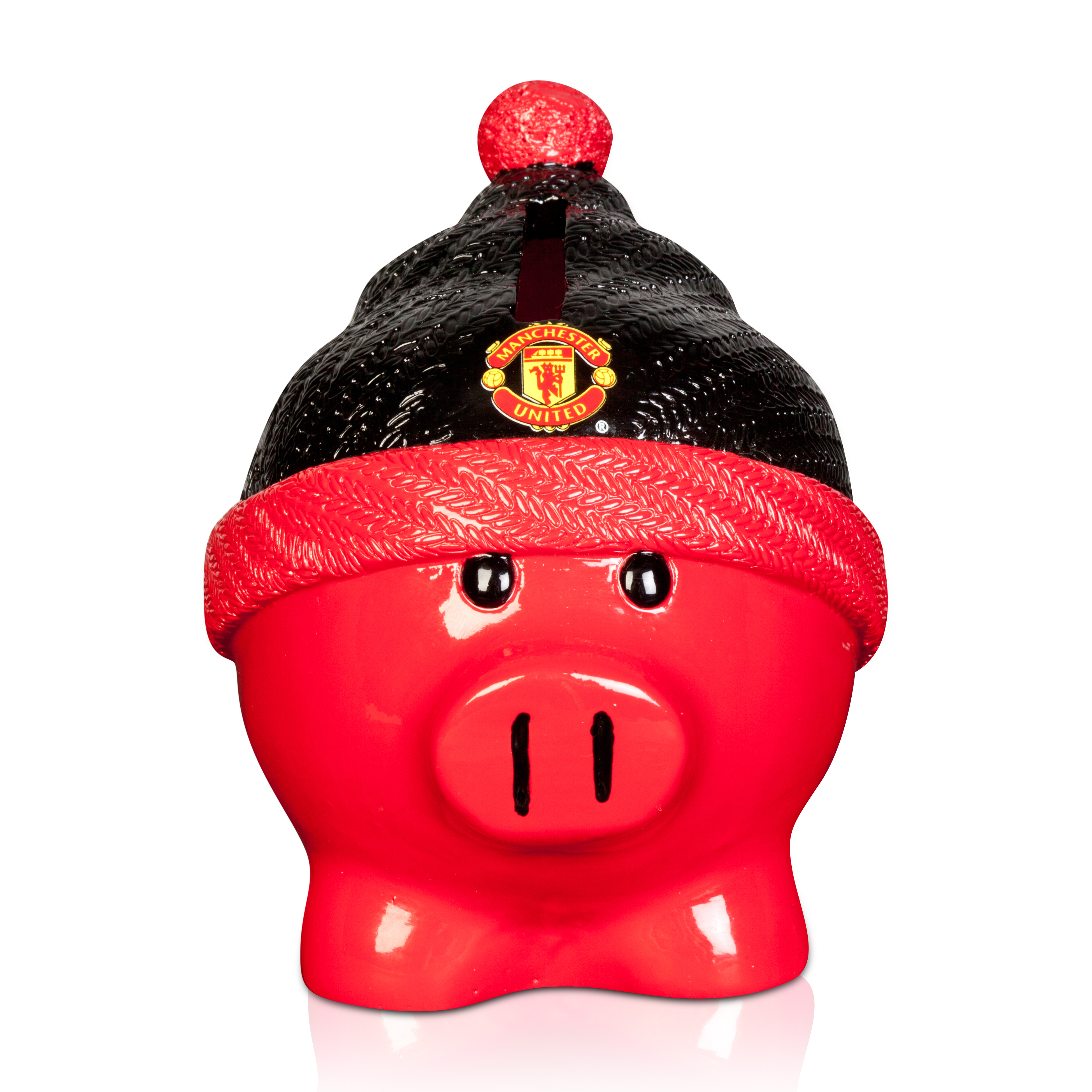 Manchester United Beanie Piggy Bank