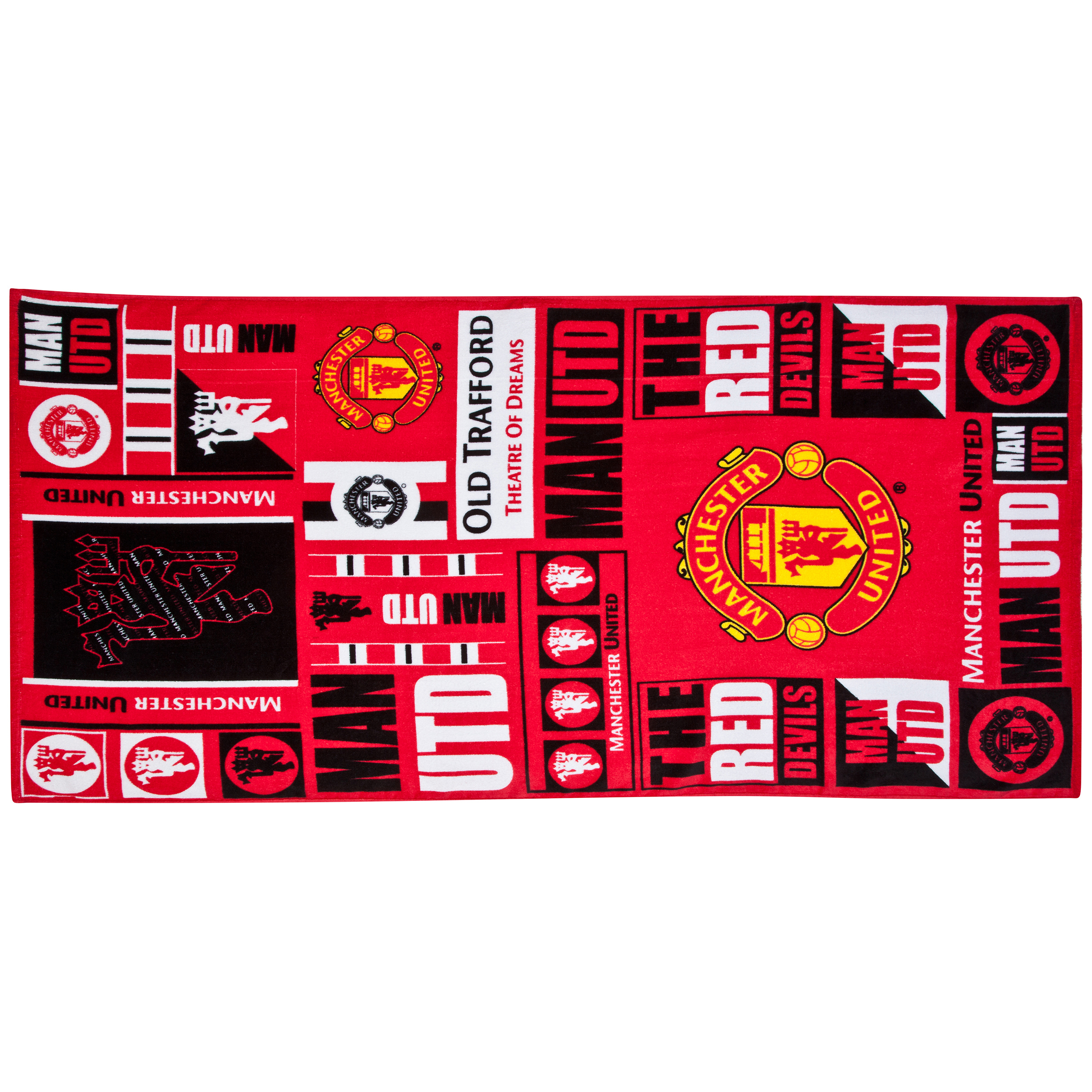 Manchester United Tag Towel
