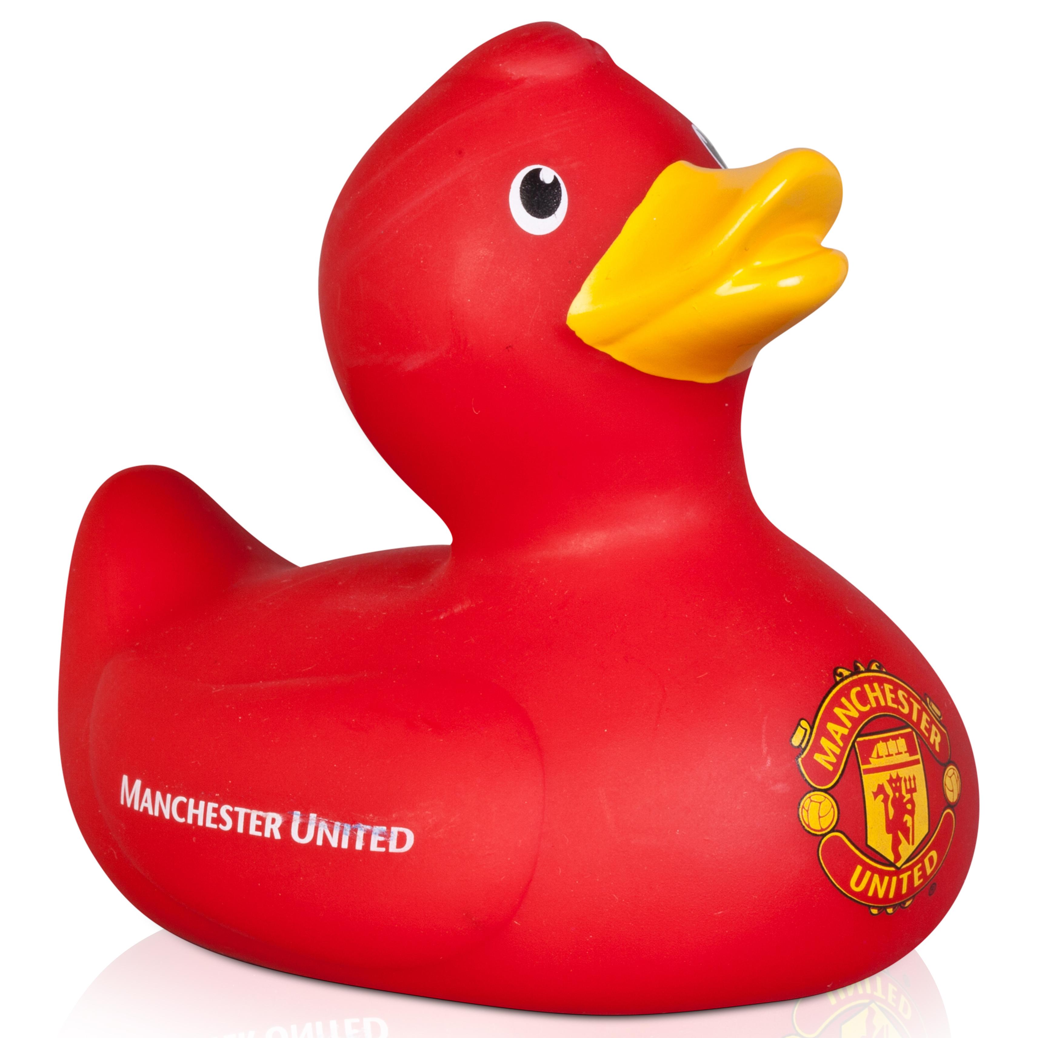 Manchester United Vinyl Duck