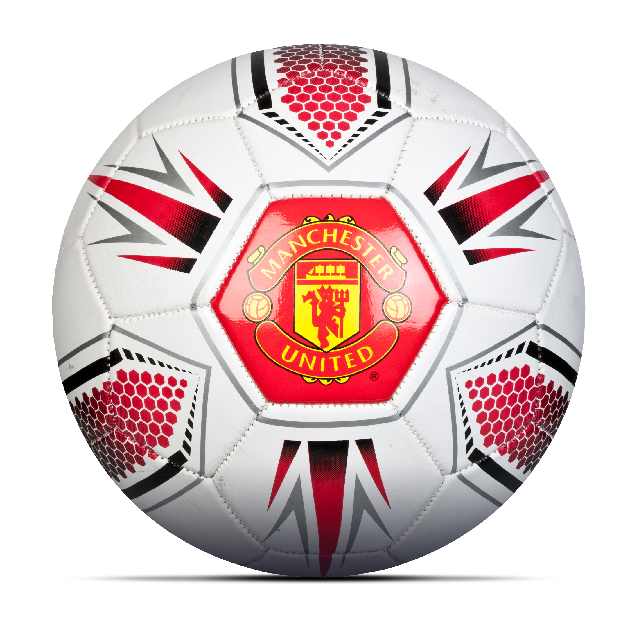 Manchester United Hex Football - Size 5