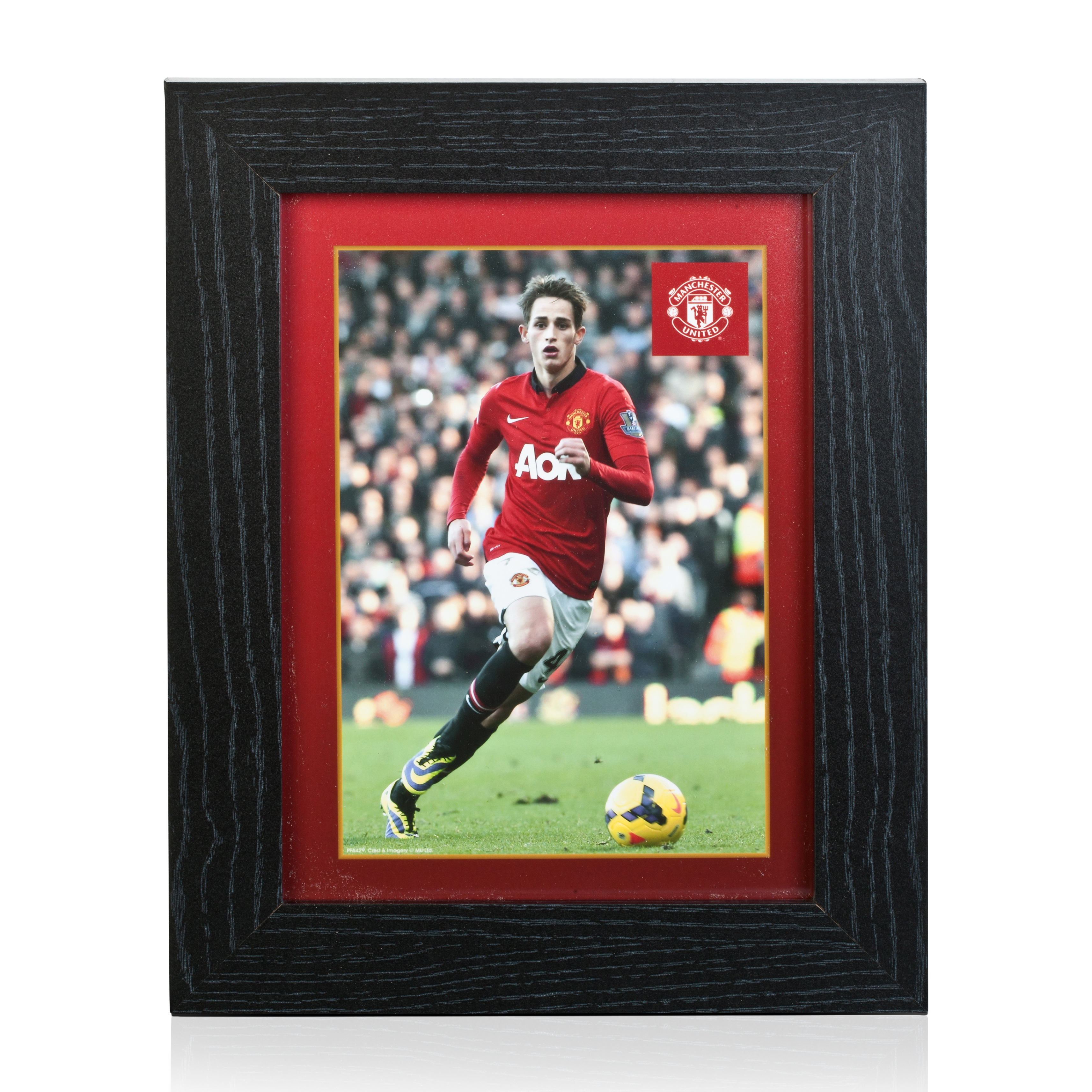 Manchester United 2013/14 Januzaj Framed Print - 8 x 6 Inch