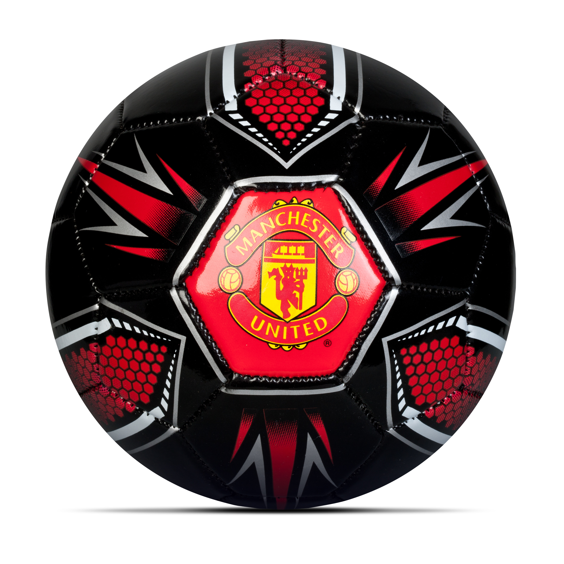 Manchester United Hex Football - Size 1