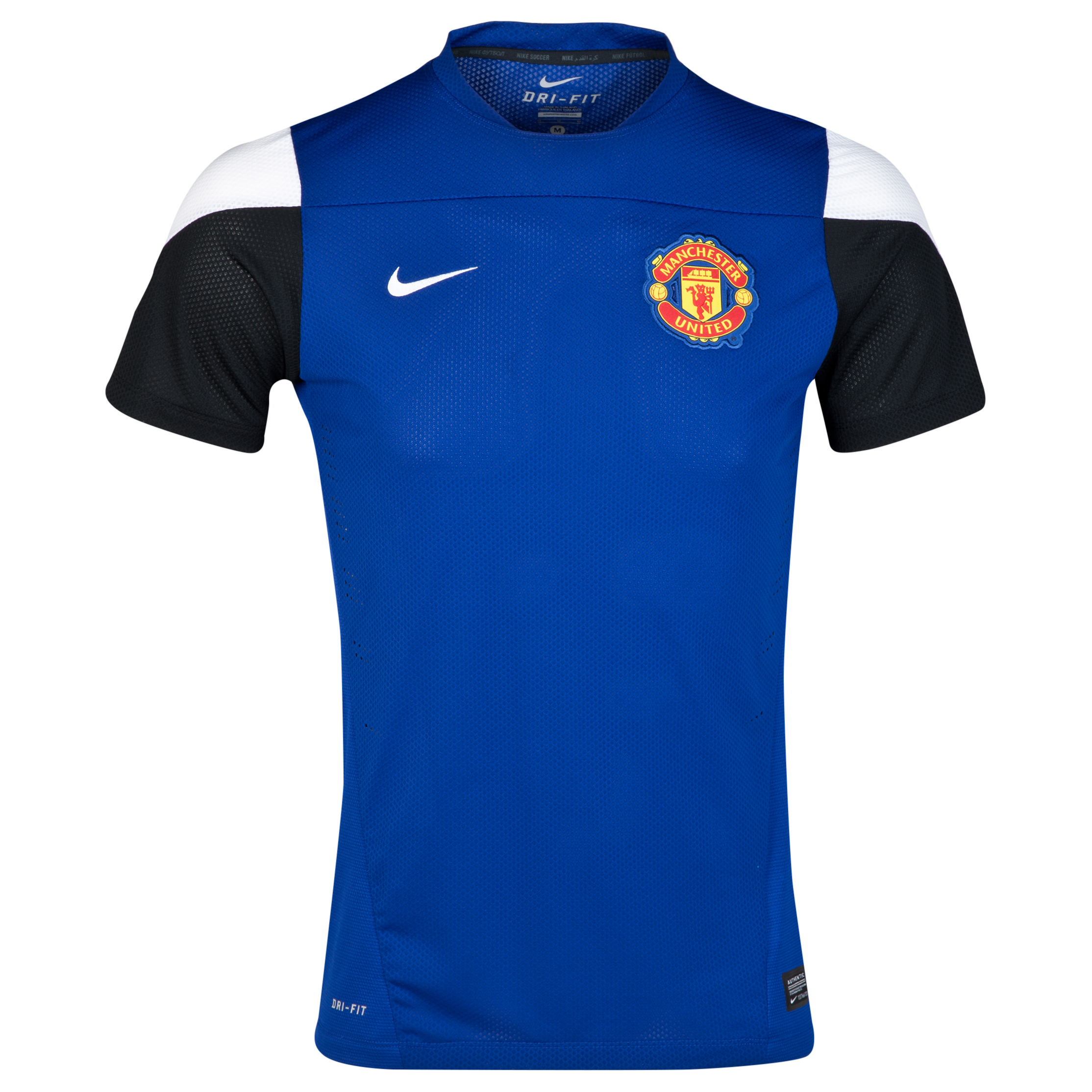 Manchester United Player Short Sleeve Training Top
