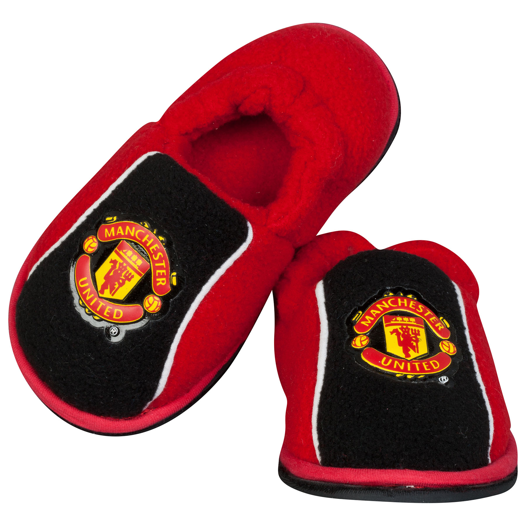 Manchester United Stretch Heel Slippers - Red - Boys
