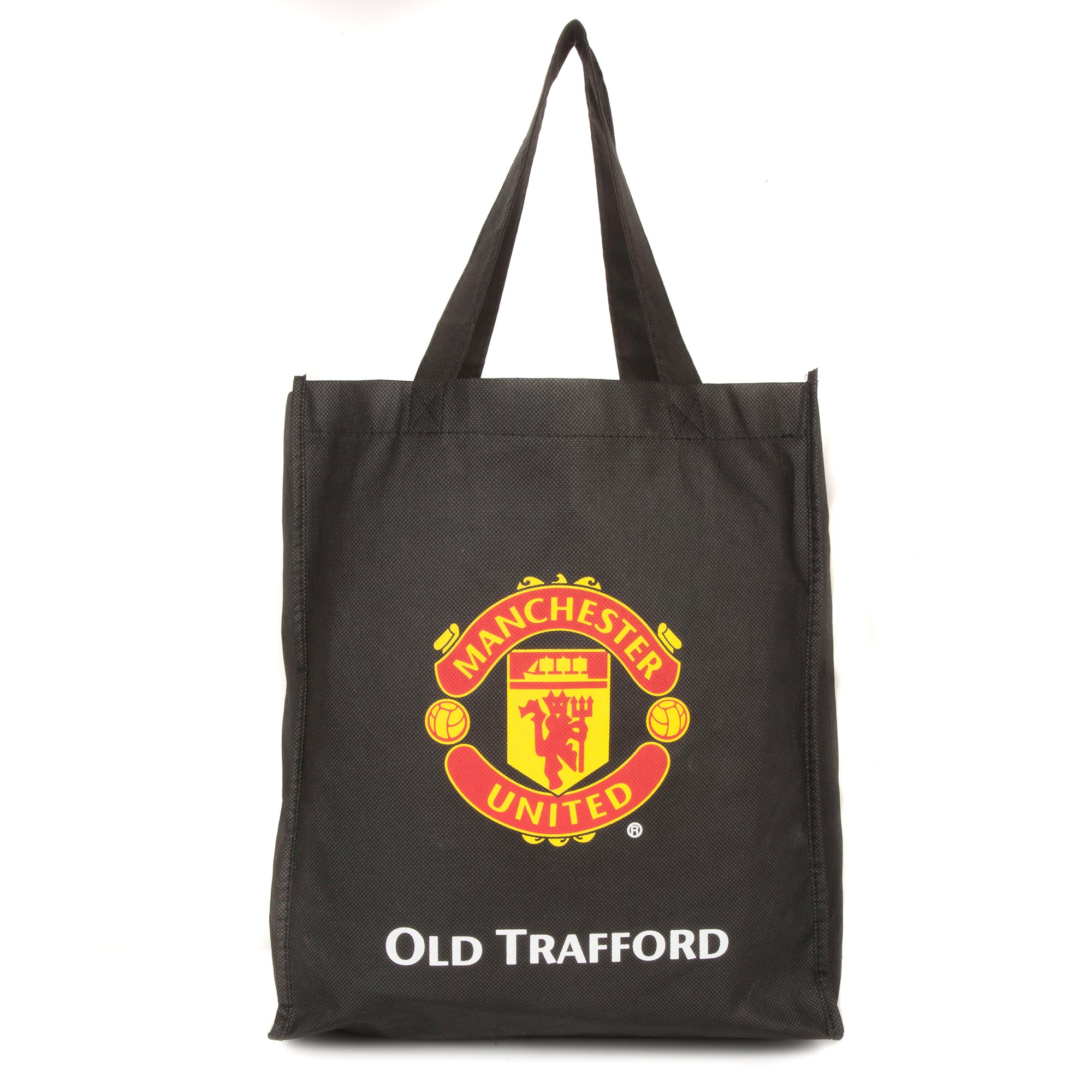 Manchester United Reusable Tote Bag - Black