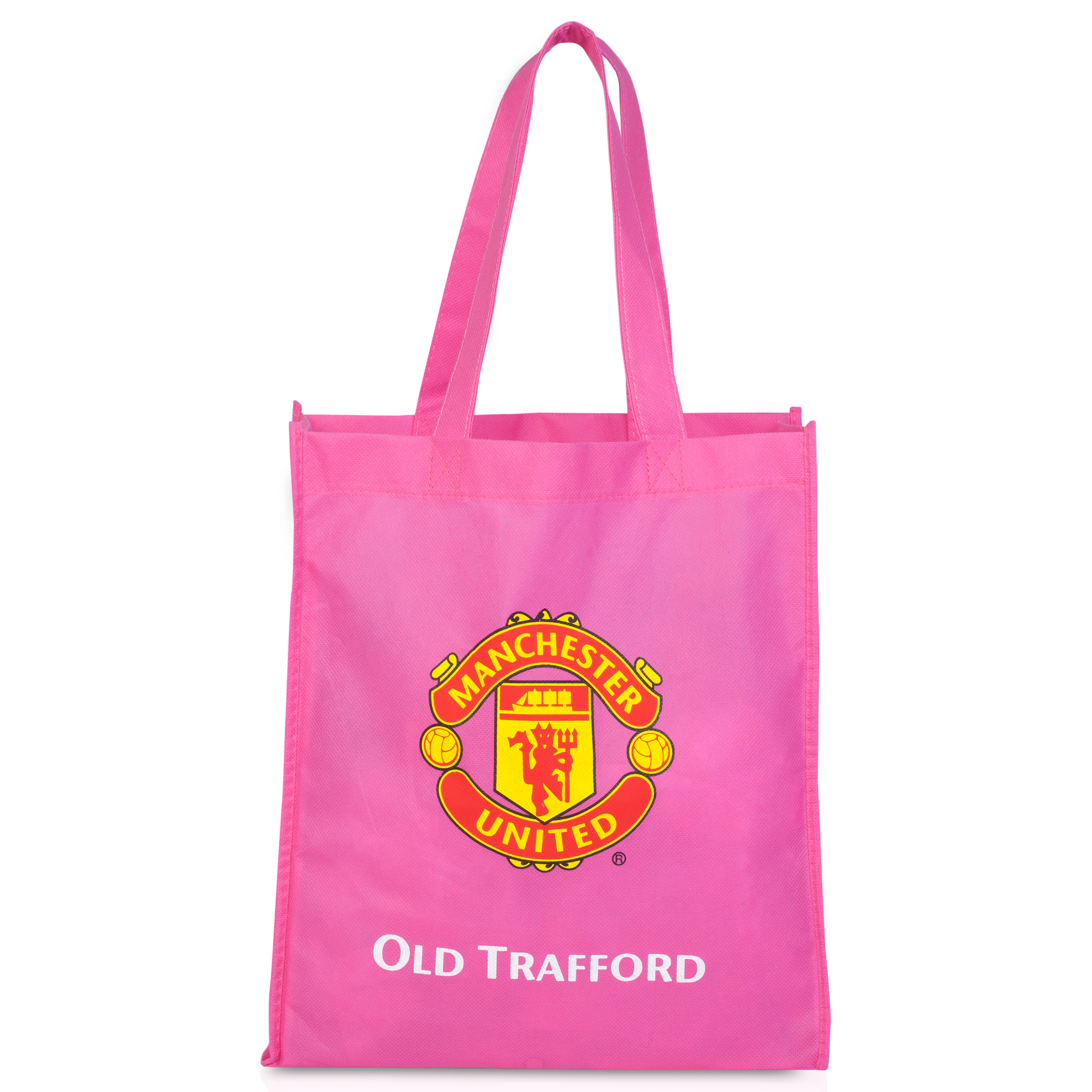 Manchester United Reusable Tote Bag - Pink