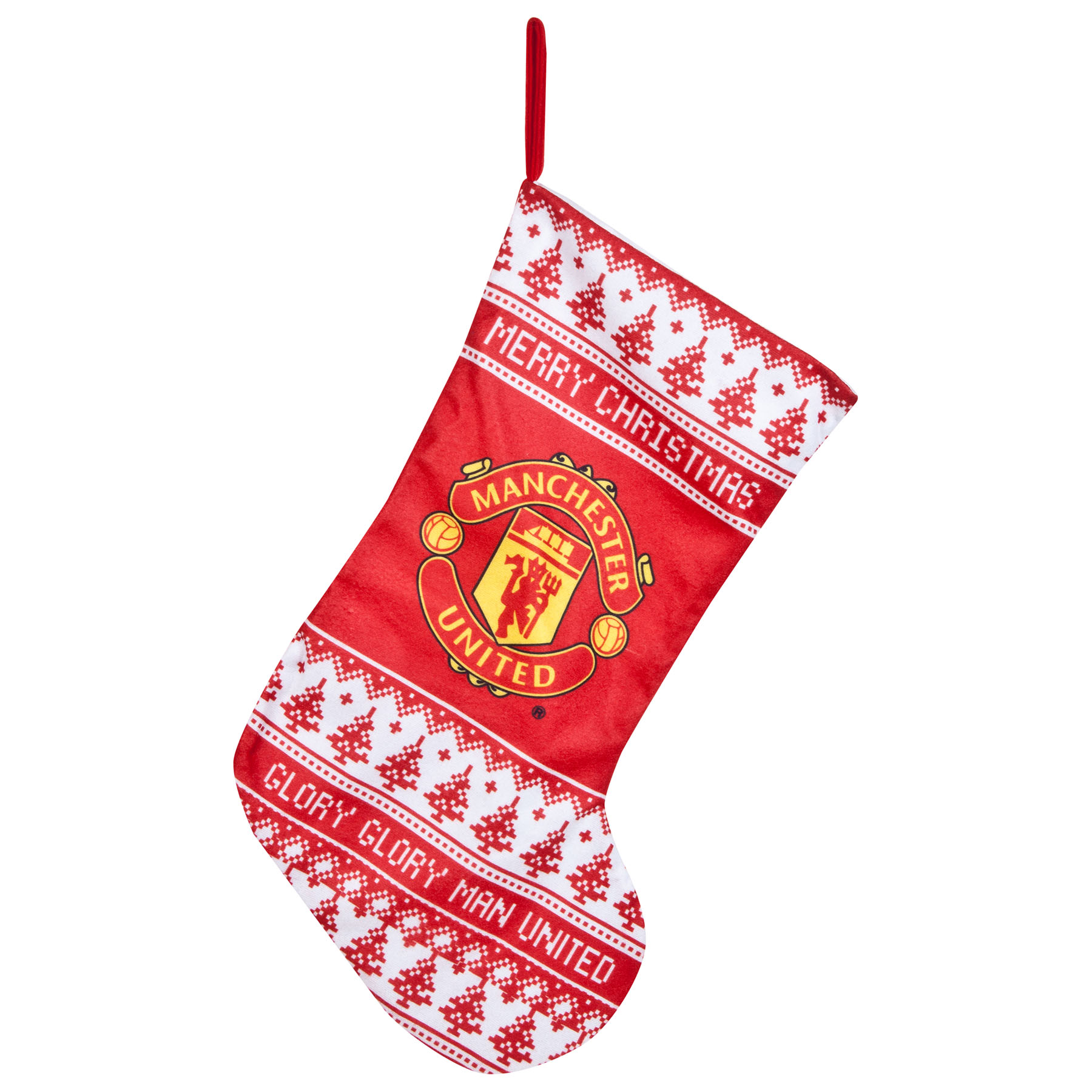 Manchester United Christmas Nordic Stocking