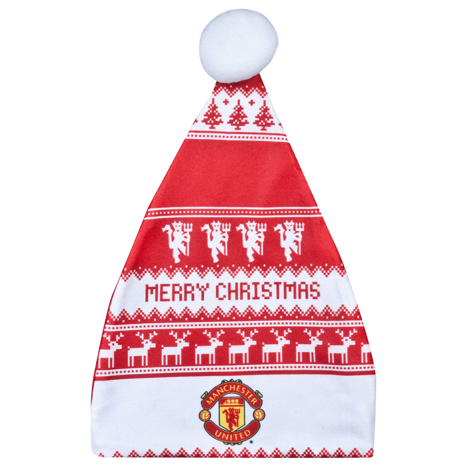 Manchester United Christmas Nordic Santa Hat