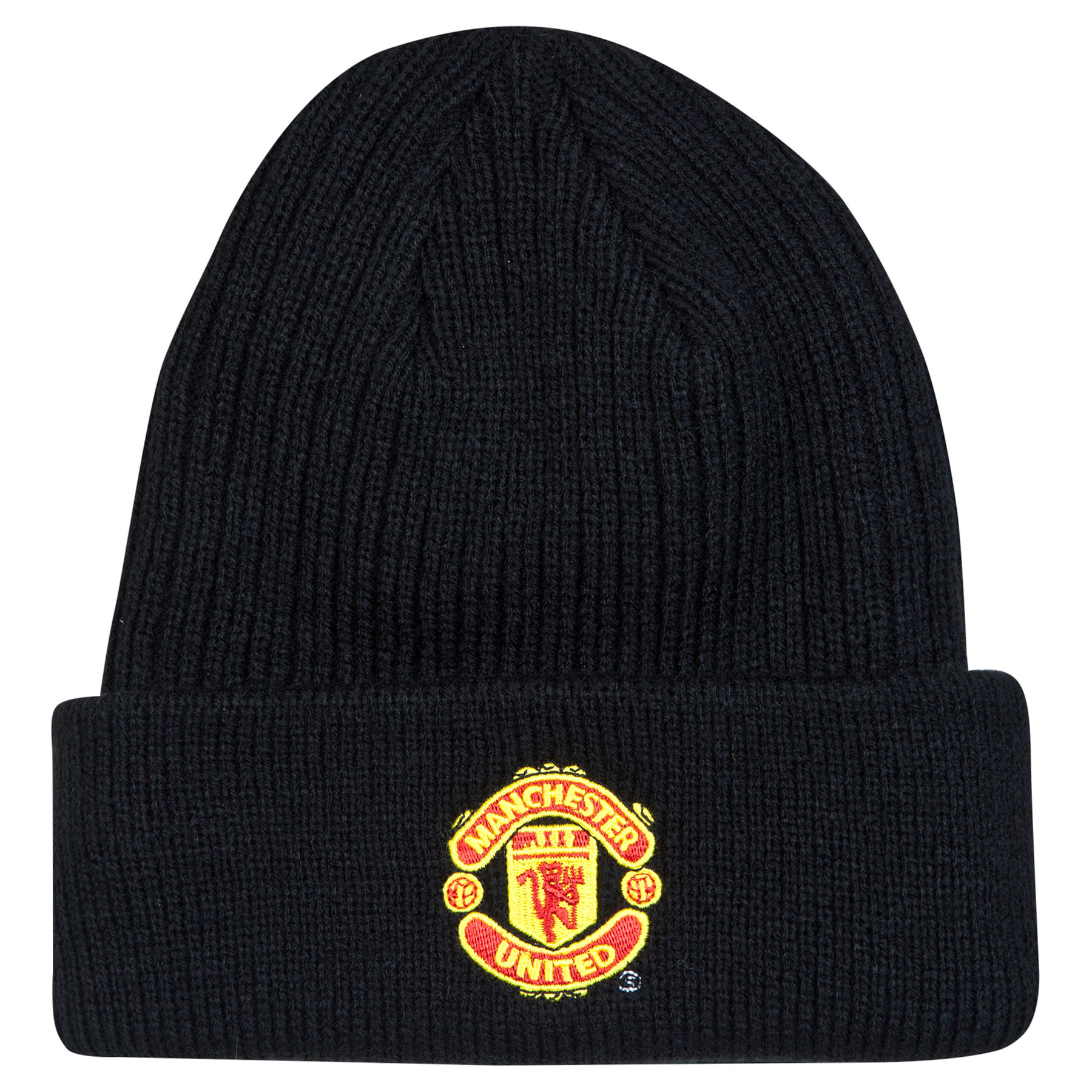 Manchester United Core Cuff Hat - Black - Adult