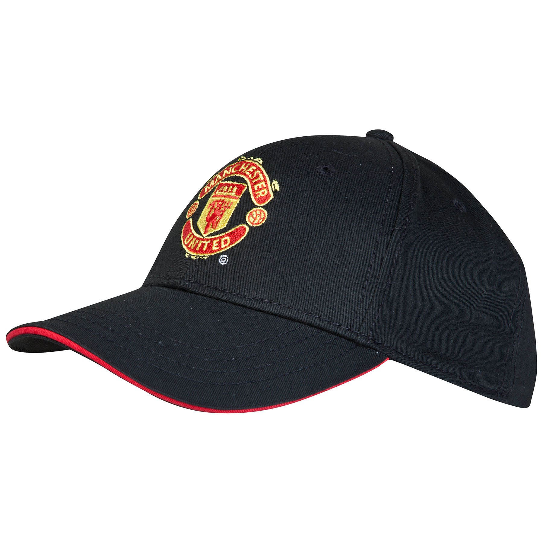 Manchester United Core Crest Cap - Black - Adult