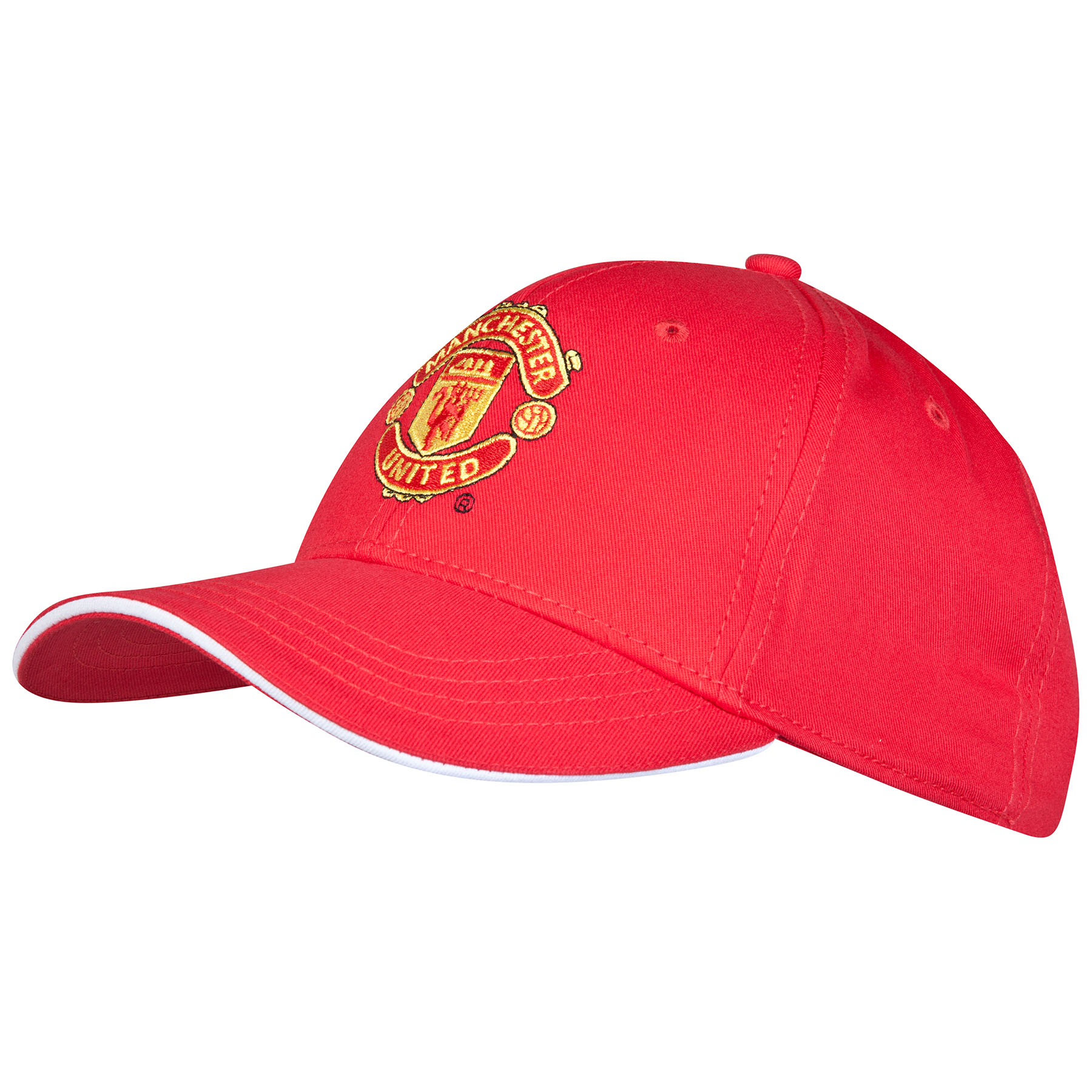 Manchester United Core Crest Cap - Red - Adult