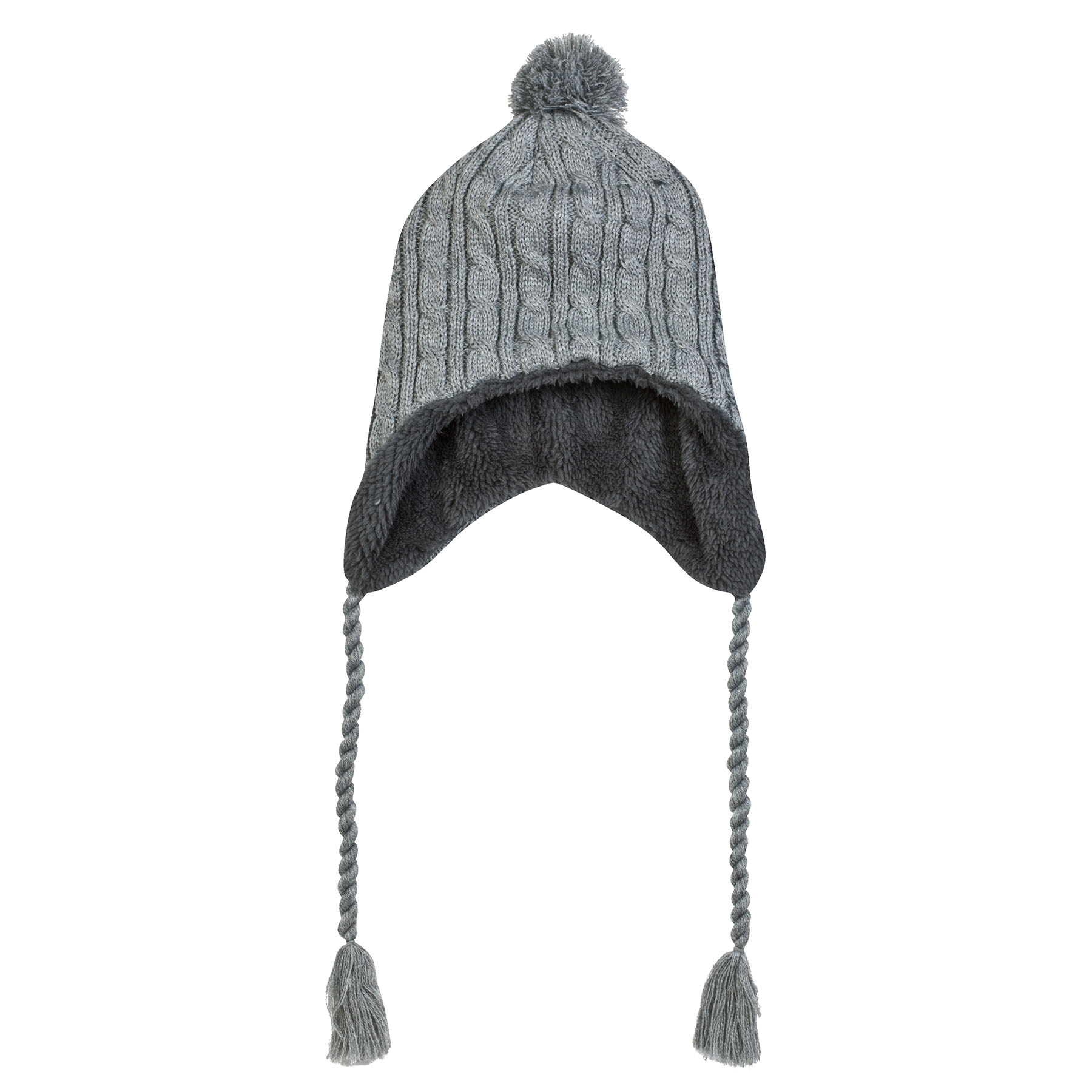 Manchester United Away Game Inca Hat - Grey - Adult