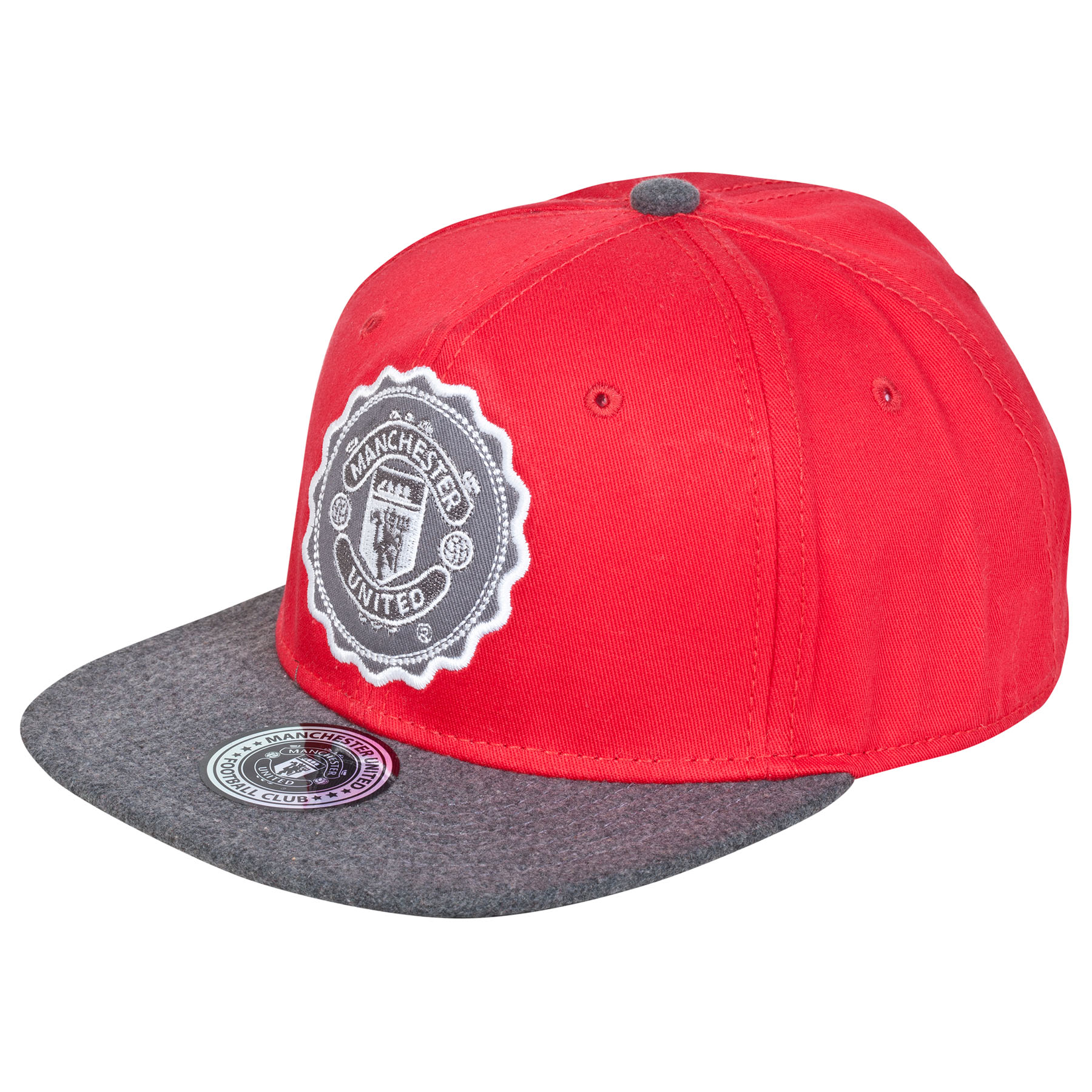 Manchester United Onside Snap Back Cap - Red - Kids