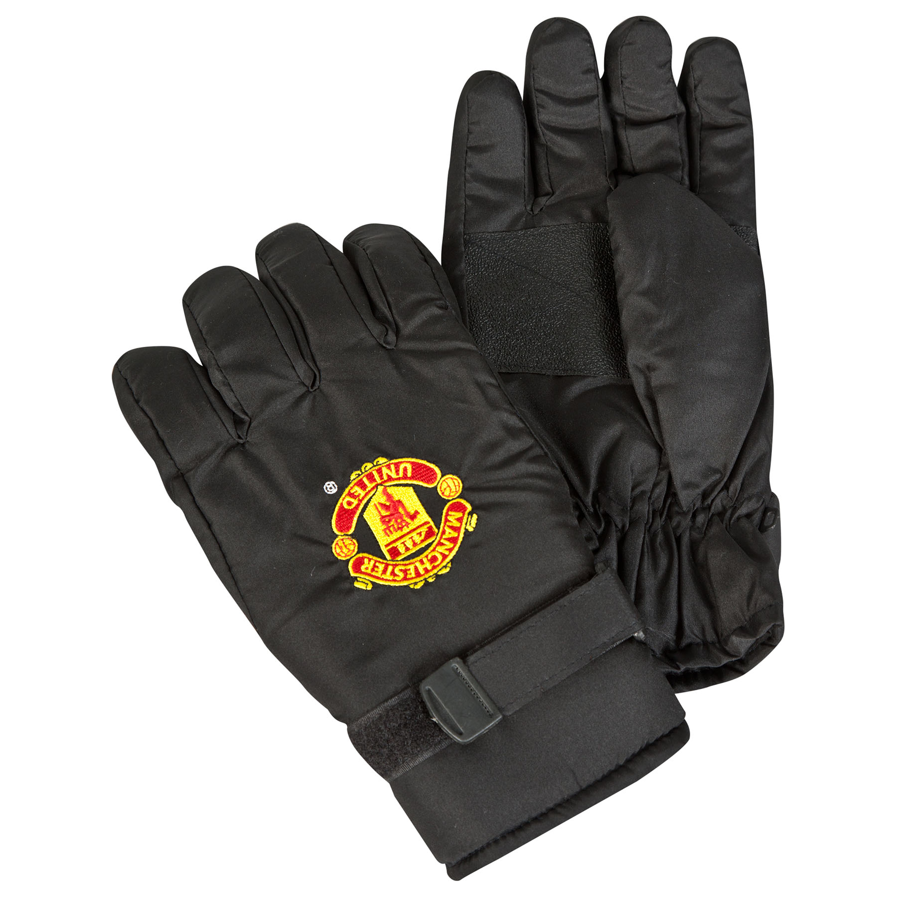 Manchester United Ski Gloves - Black - Adult