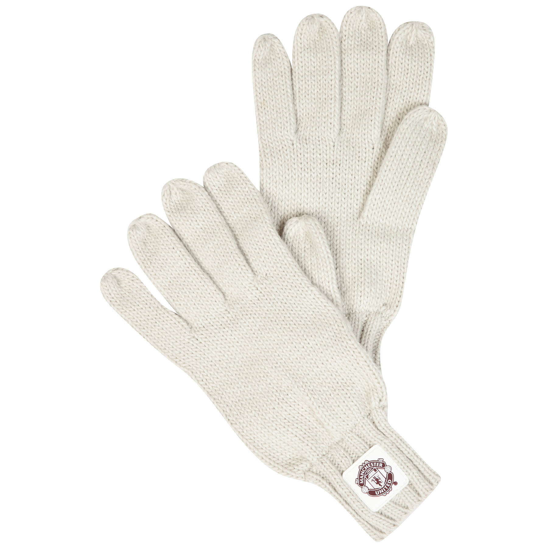 Manchester United Goalie Gloves - Cream - Womens
