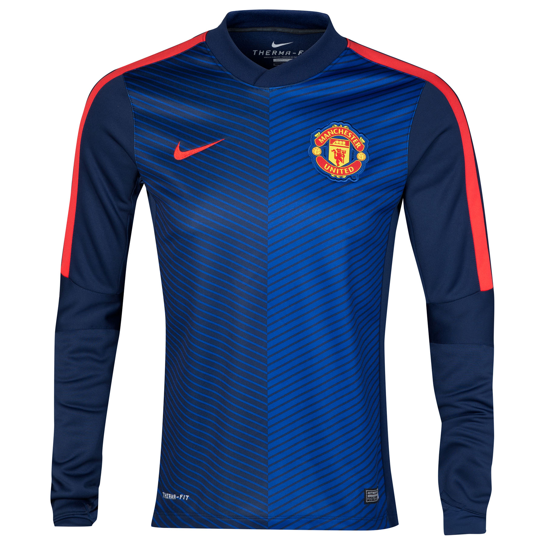 Manchester United Squad Long Sleeve Thermal Pre Match Top