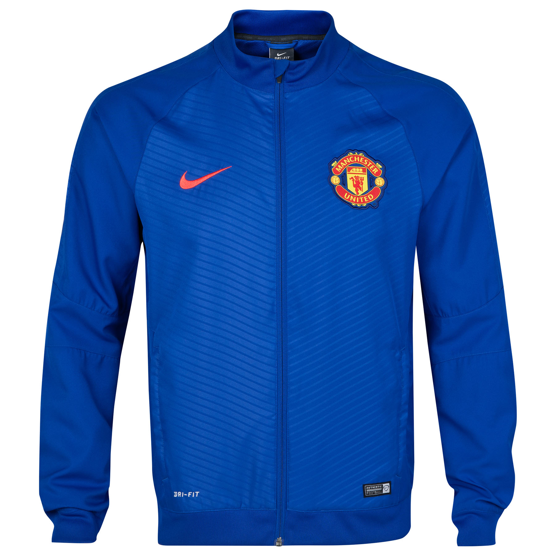 Manchester United Squad Pre Match Sideline Woven Jacket