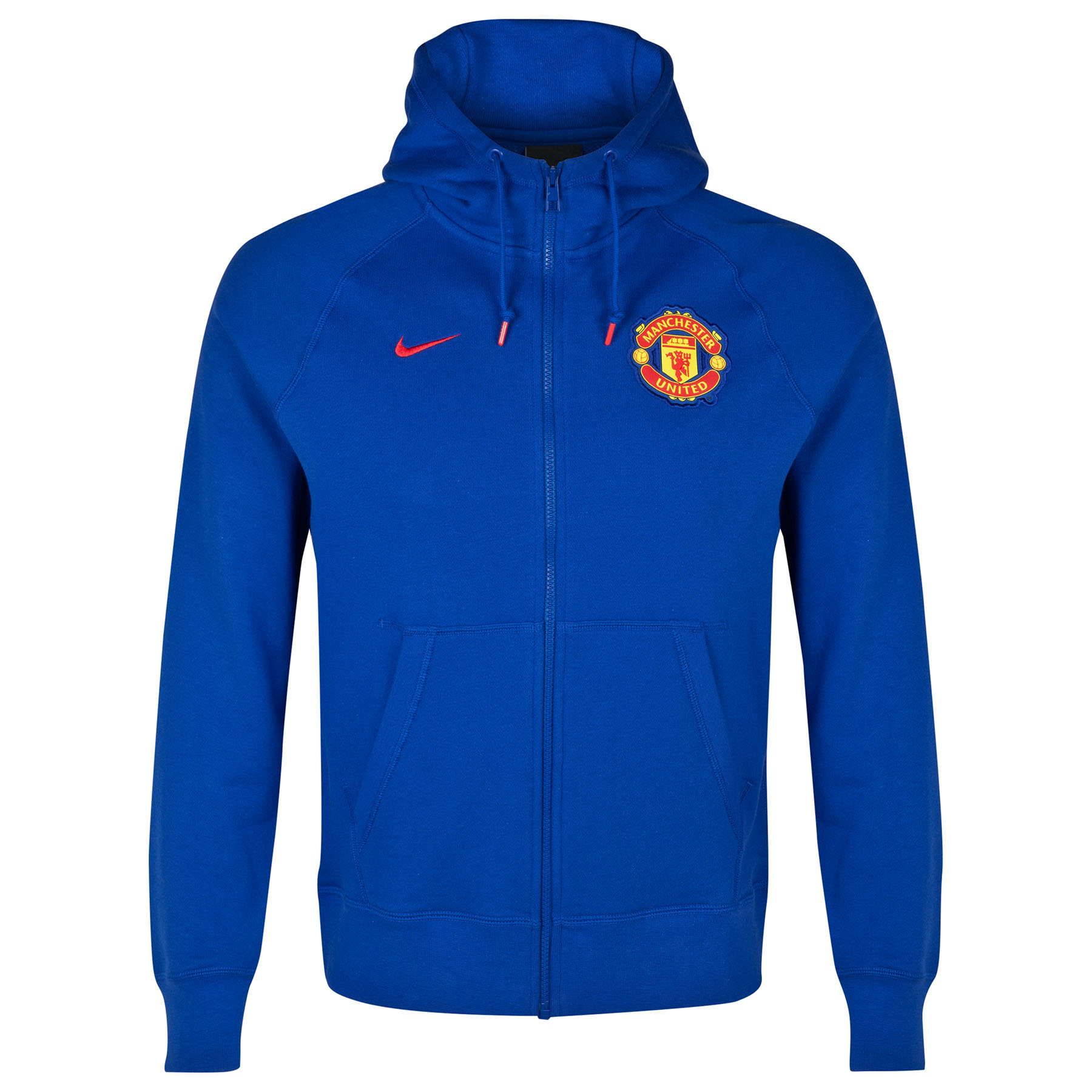 Manchester United Authentic AW77 FZ Hoody