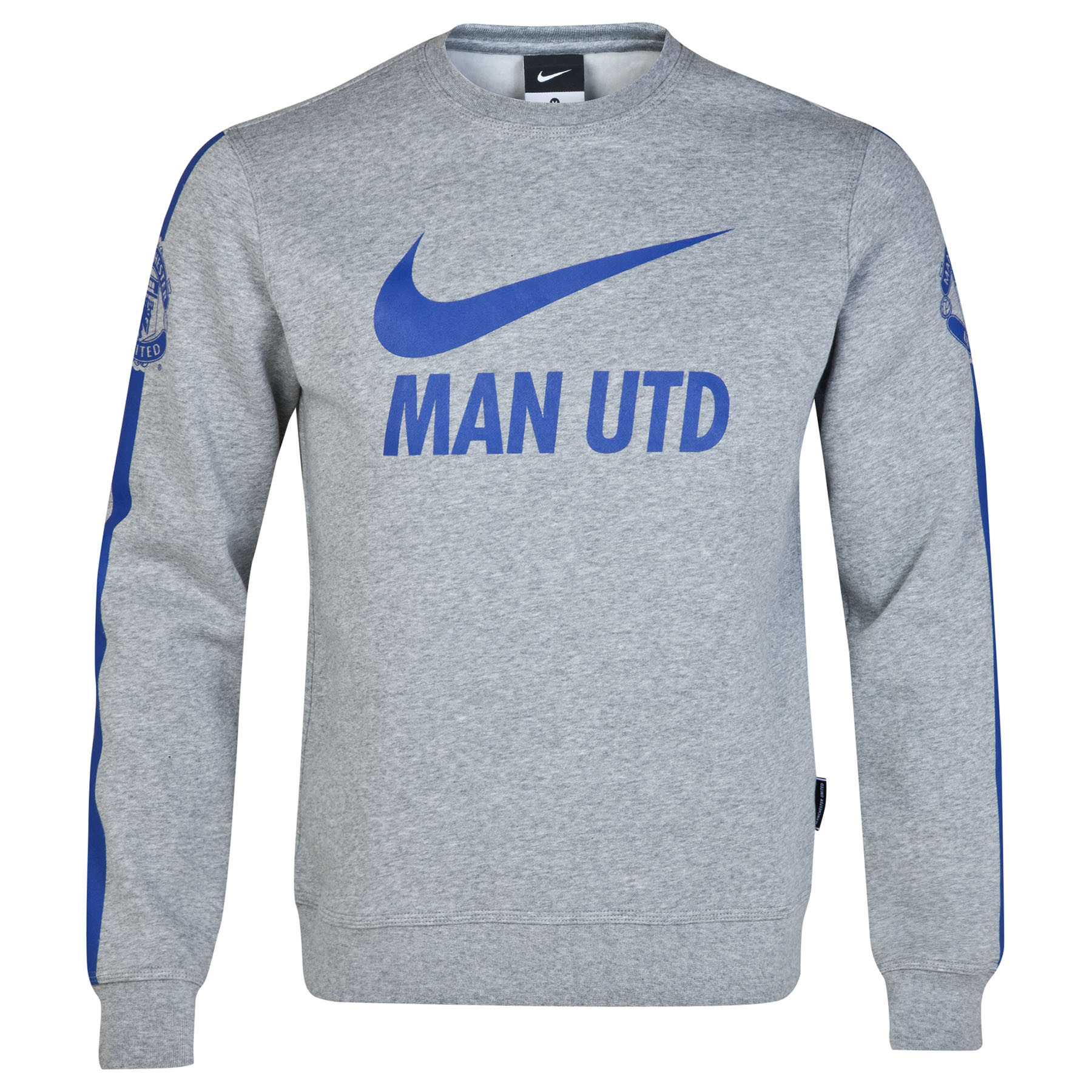 Manchester United Core Long Sleeve Crew Sweatshirt