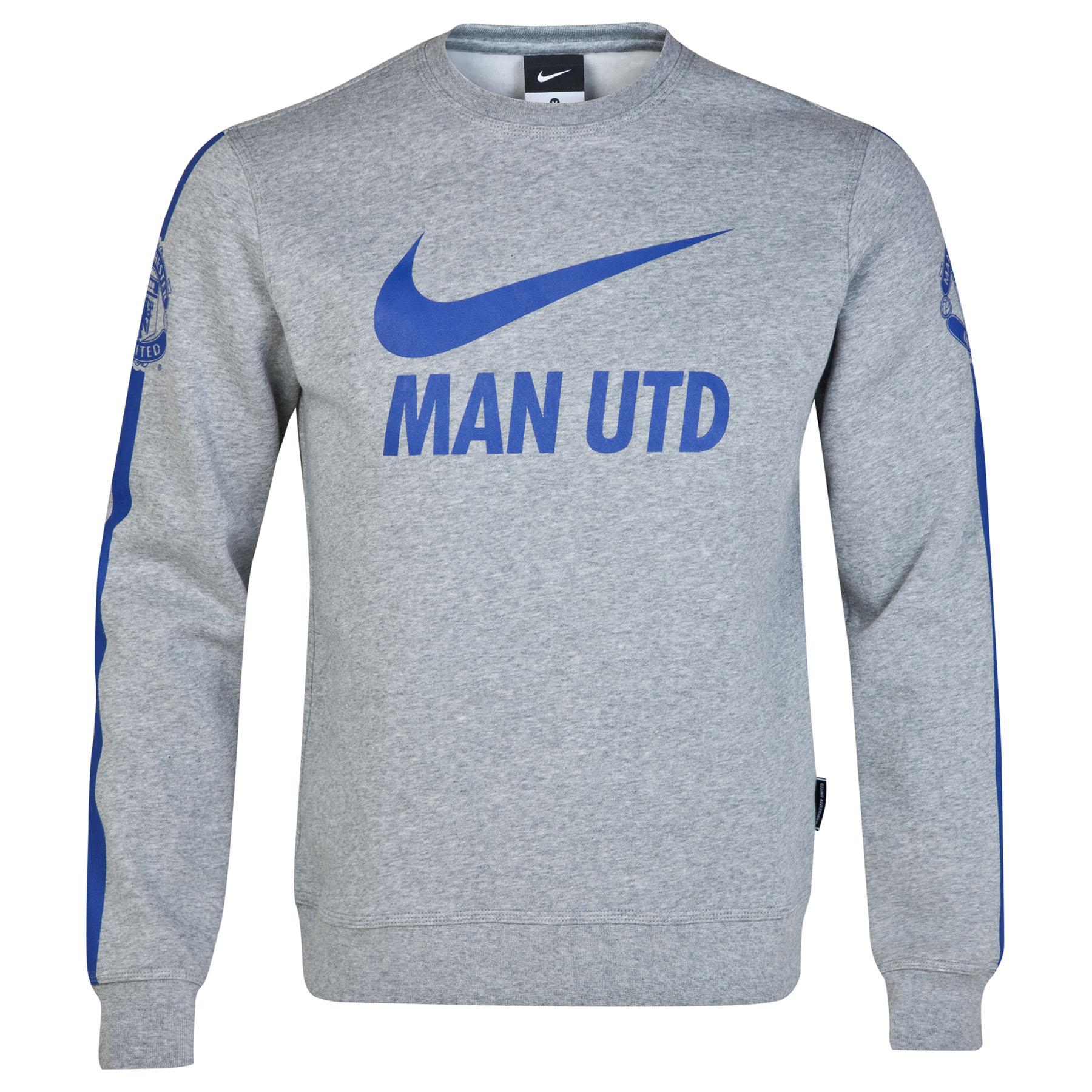 Manchester United Core Long Sleeve Crew Sweatshirt
