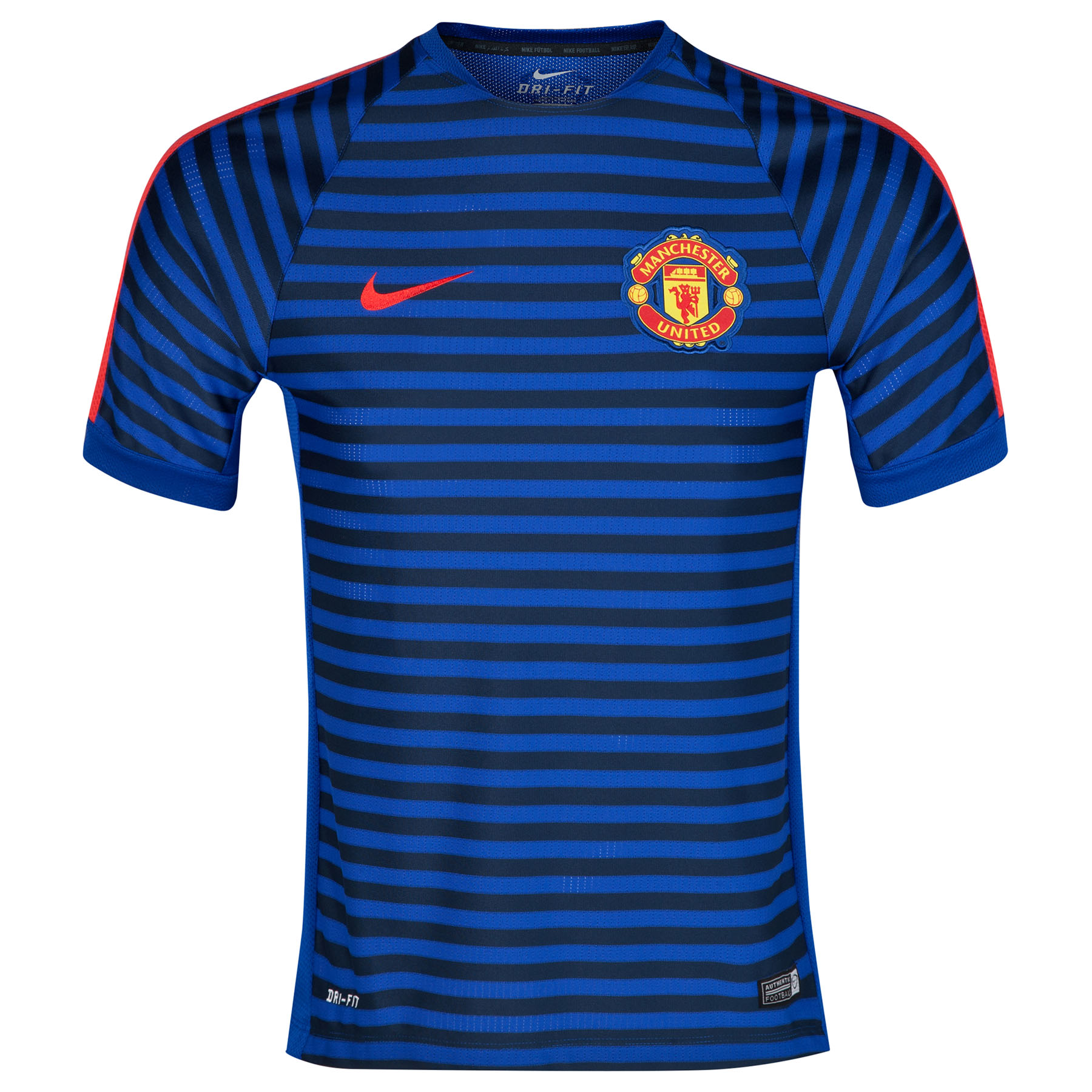Manchester United Squad Short Sleeve Training Top - Kids