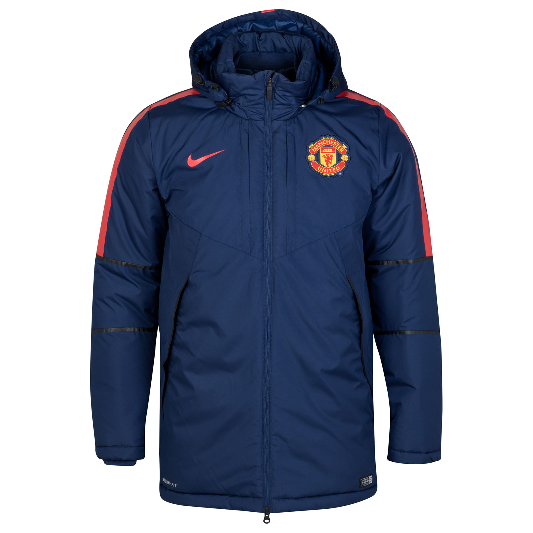 Manchester United Squad Medium Fill Jacket Navy