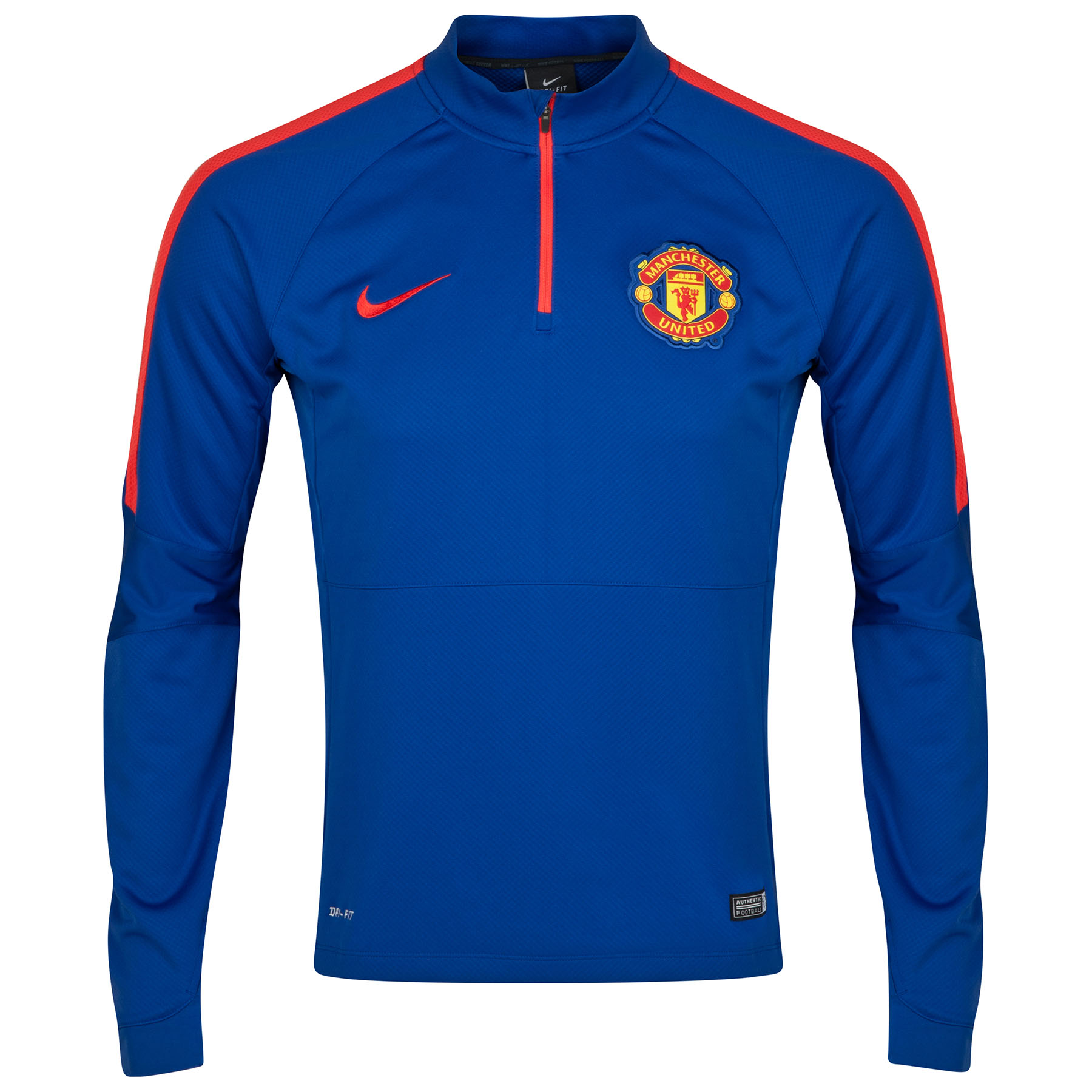 Manchester United Squad Long Sleeve Midlayer Top