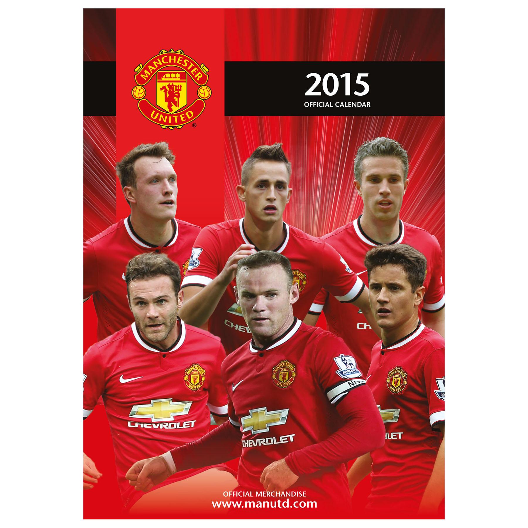 Manchester United 2015 A3 Calendar