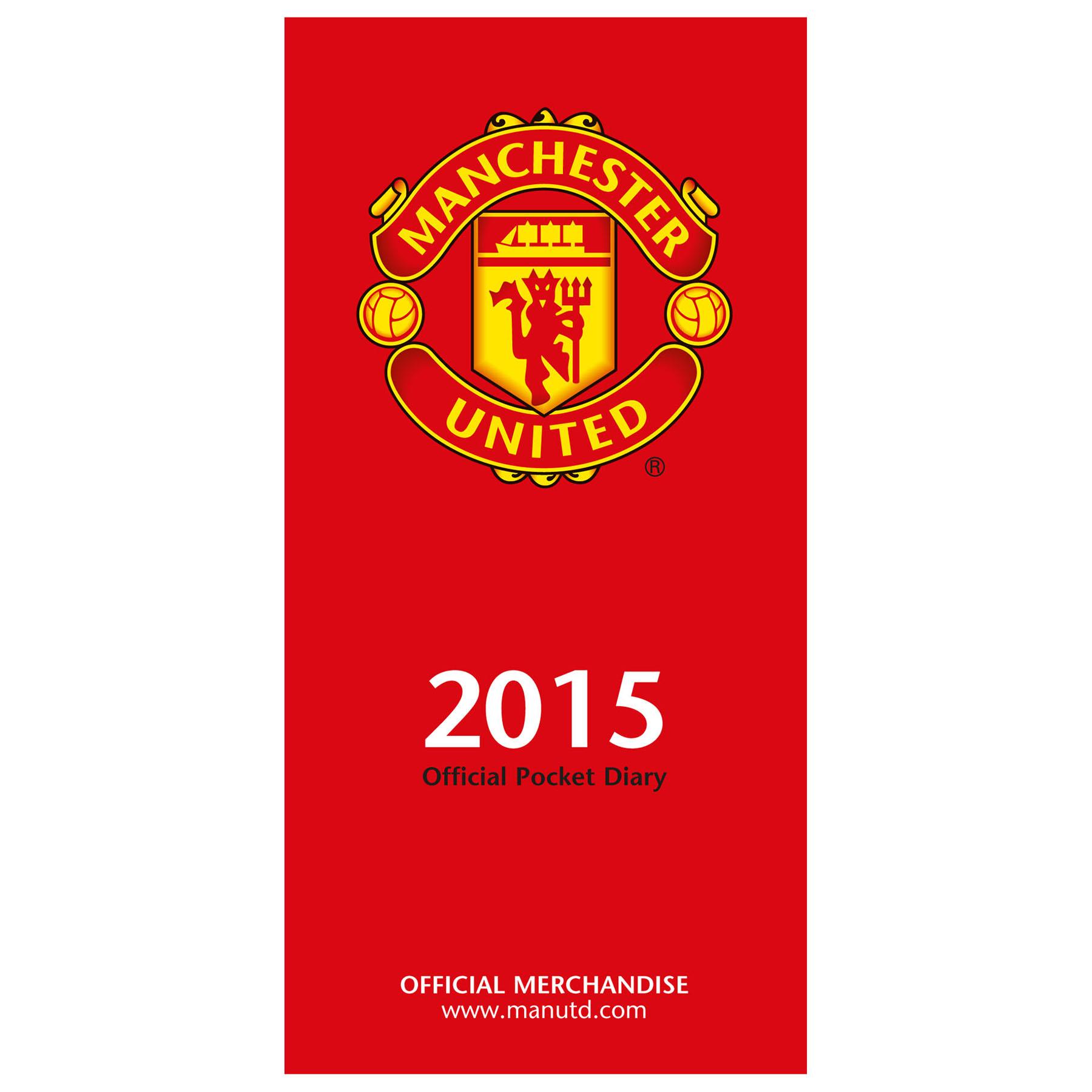 Manchester United 2015 Slim Diary
