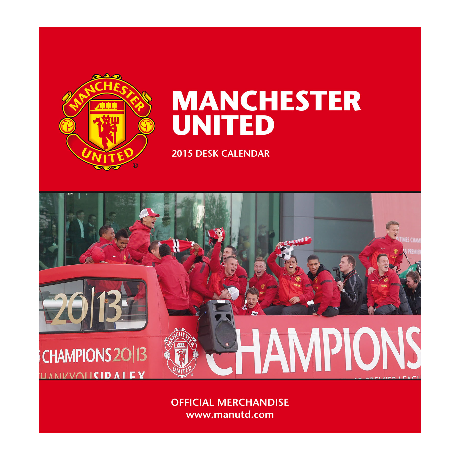Manchester United 2015 Desk Calendar