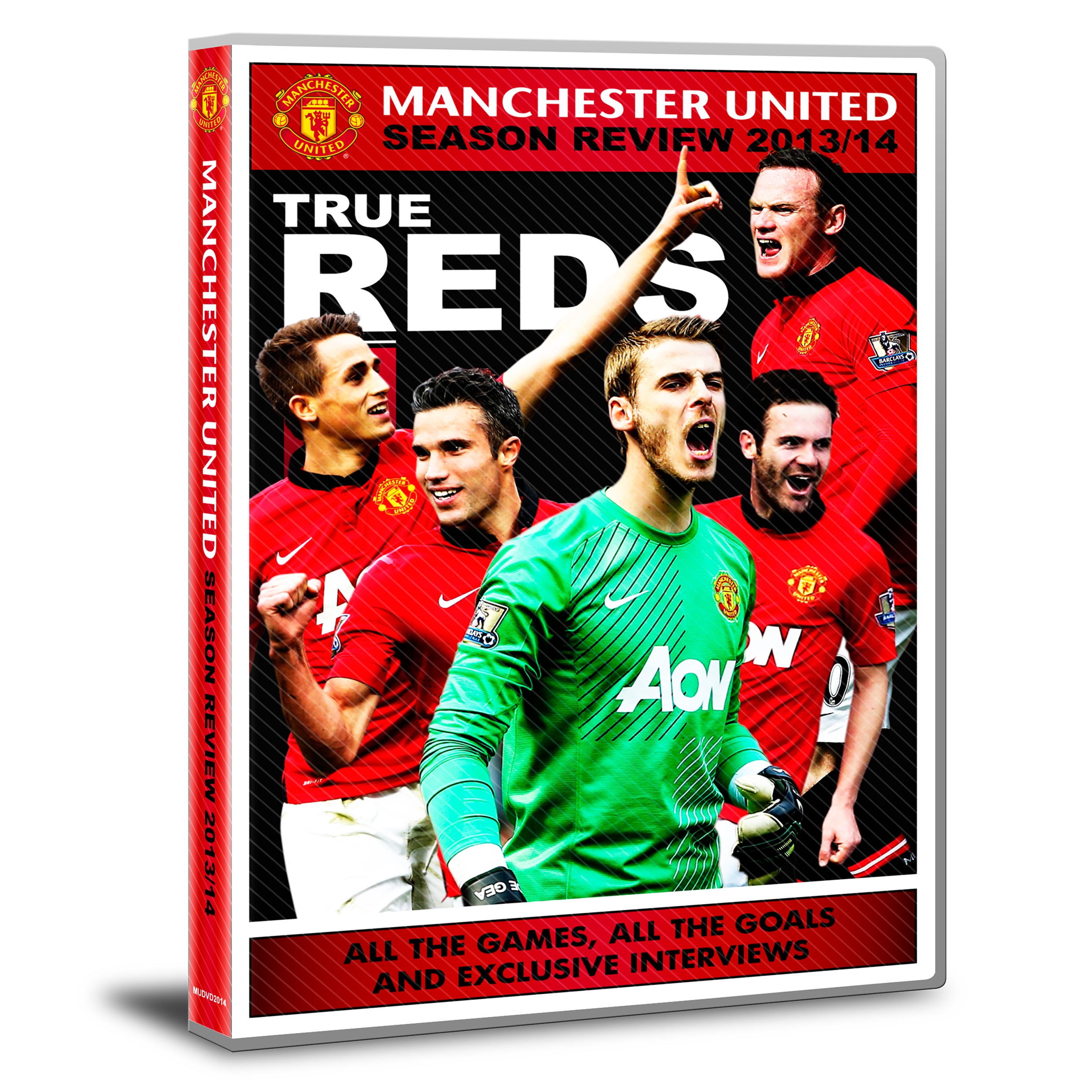 Manchester United True Red - 2013/14 Season Review DVD