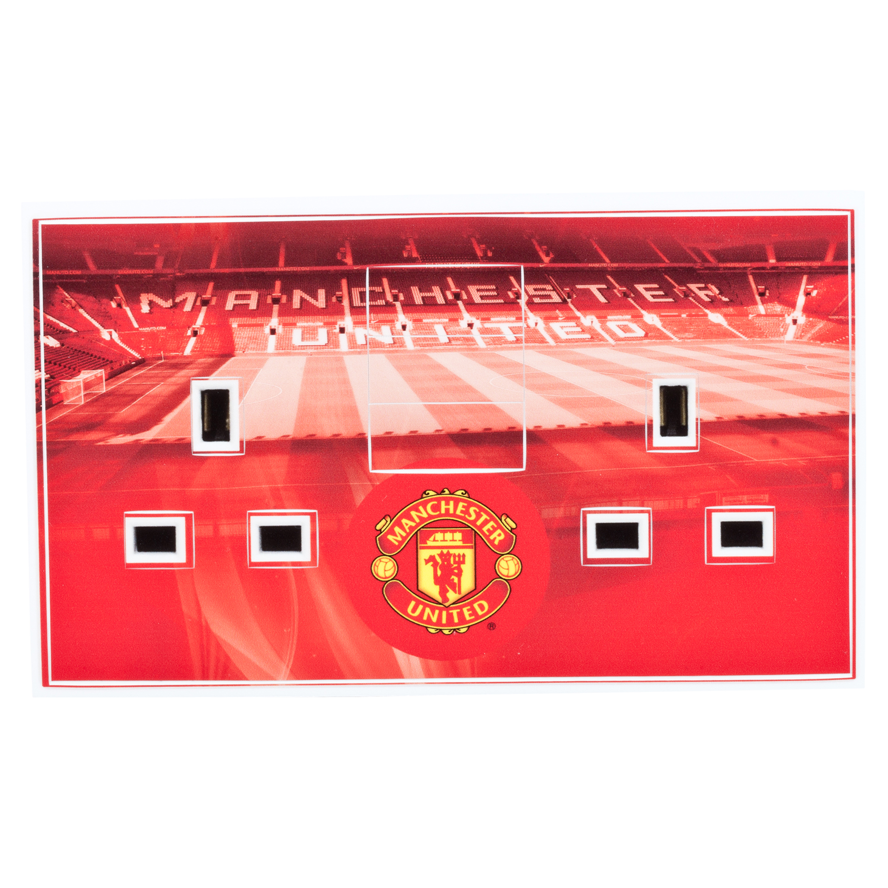 Manchester United Double Plug Socket Skin