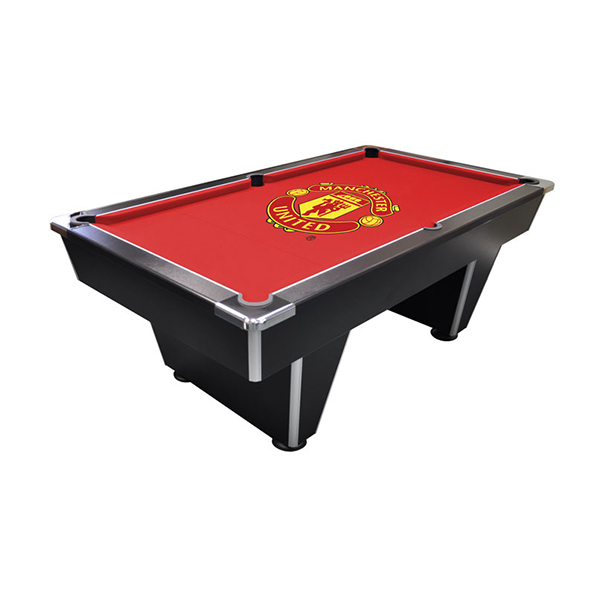 Manchester United Pool Table 6ft - Black