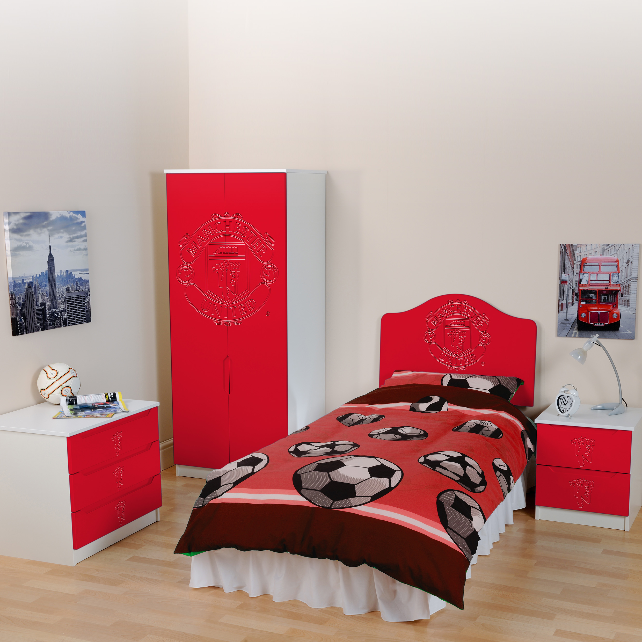 Manchester United Bedroom Set