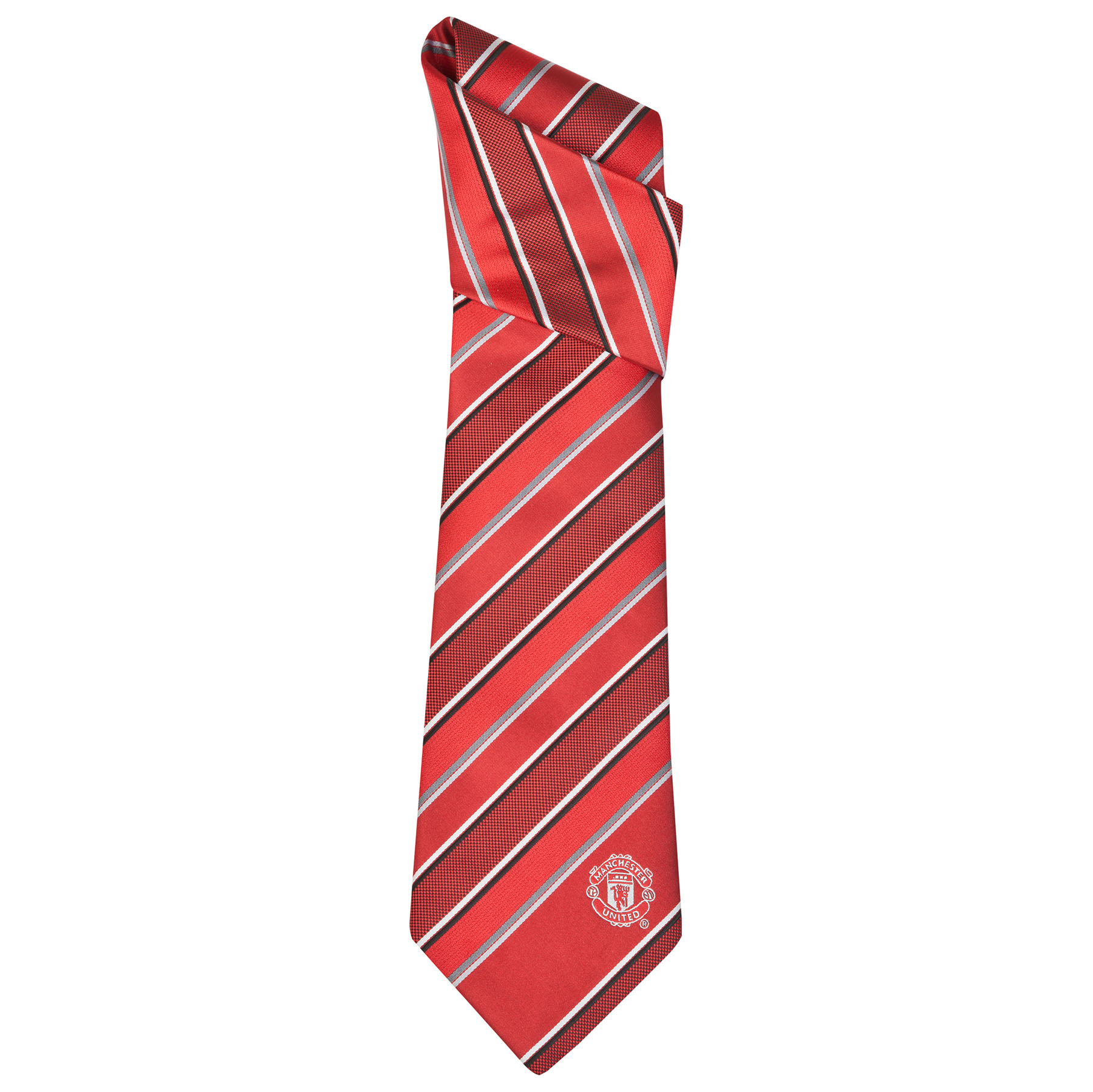 Manchester United Crest Various Weave Tie - Polyester