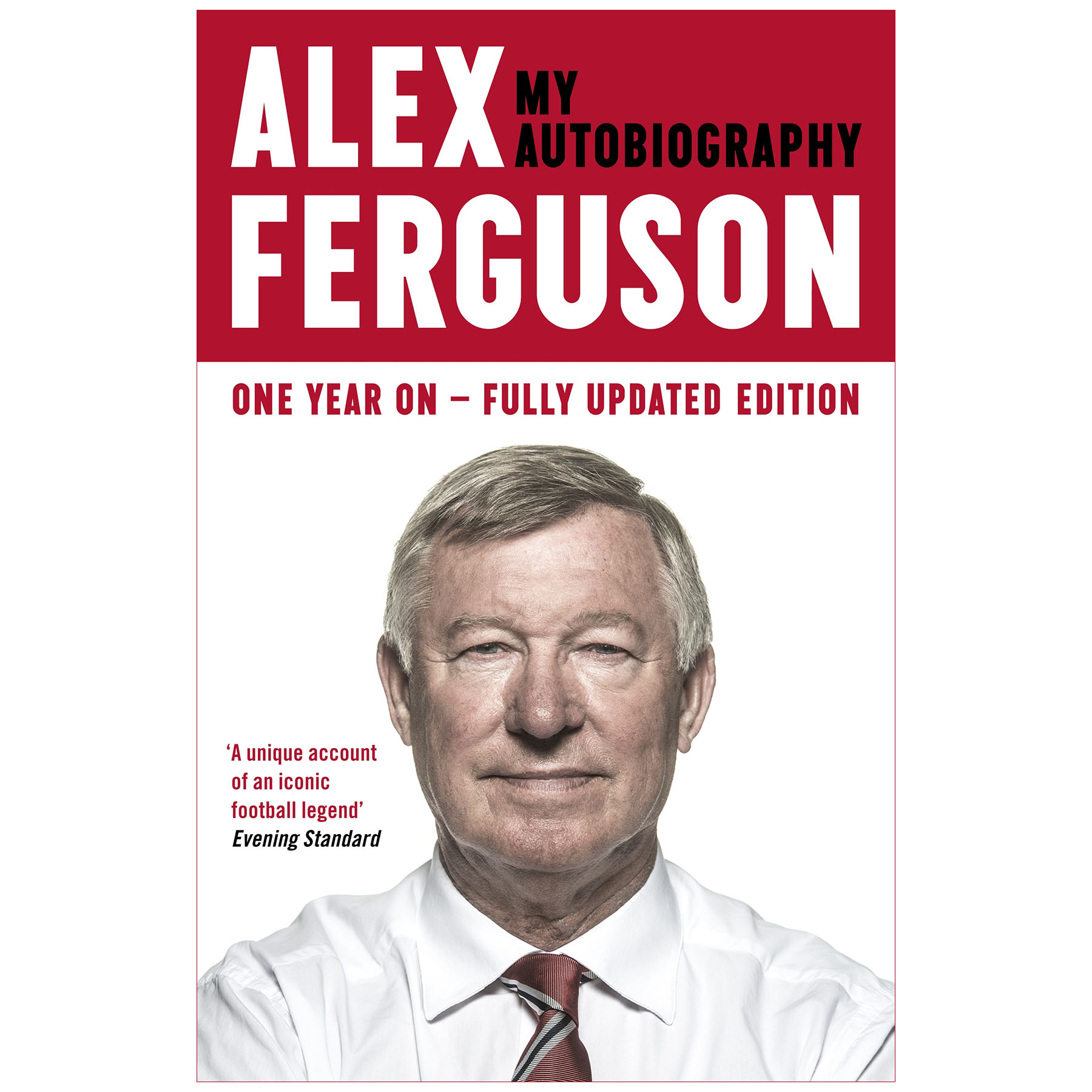 Manchester United Alex Ferguson My Autobiography Paper Back Book