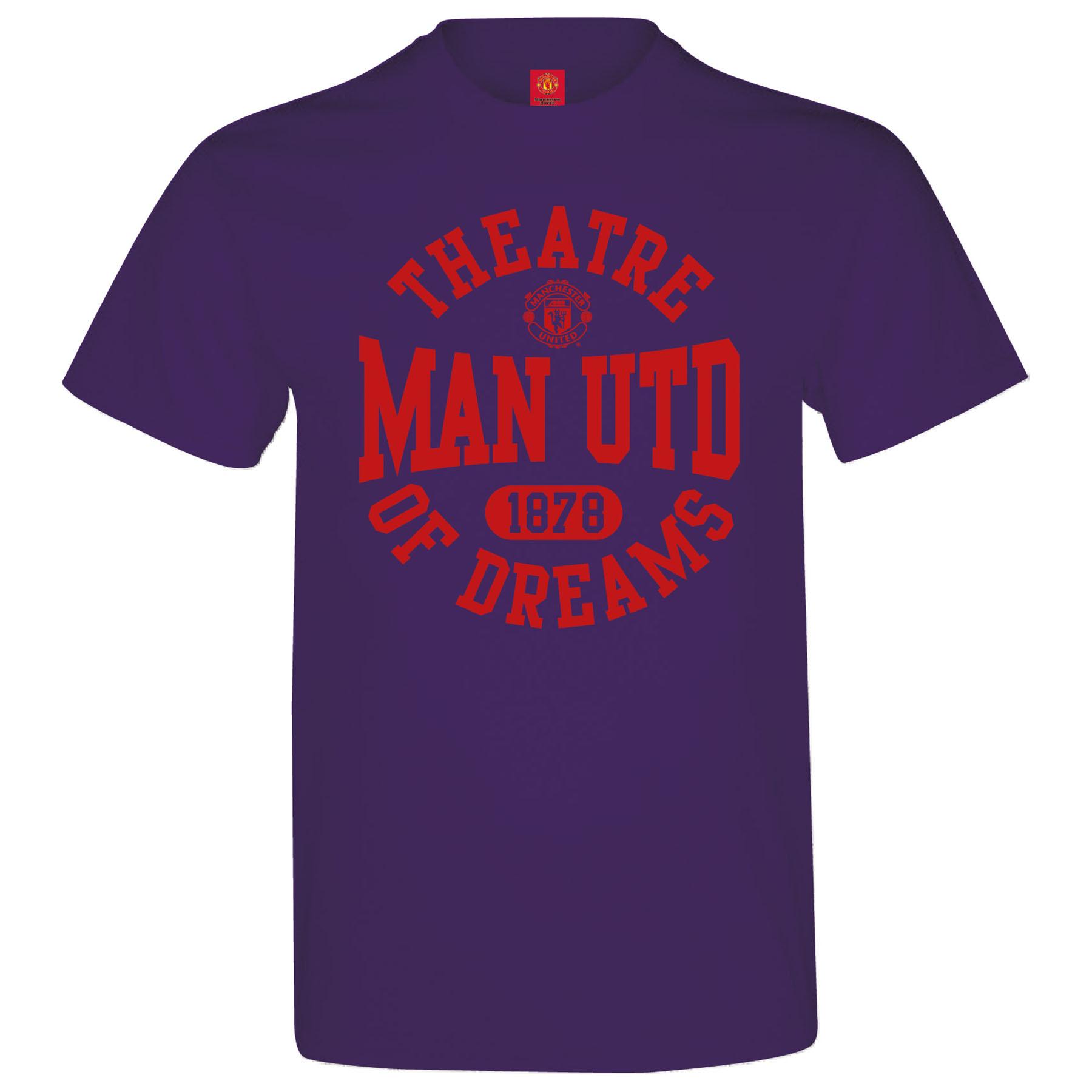 Manchester United Theatre Of Dreams T-Shirt - Purple - Mens