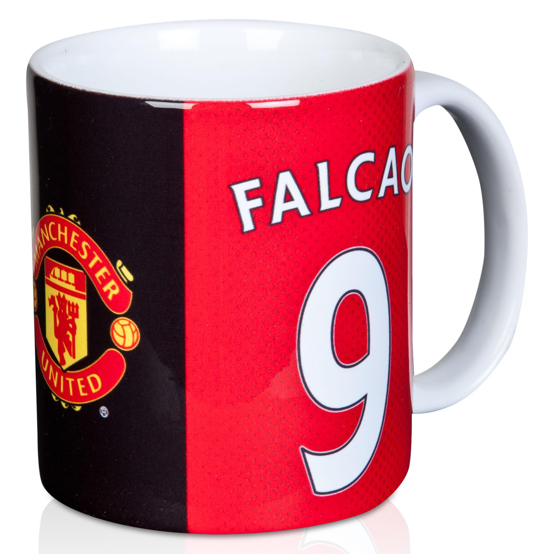 Image of Manchester United Falcao Mug, Red