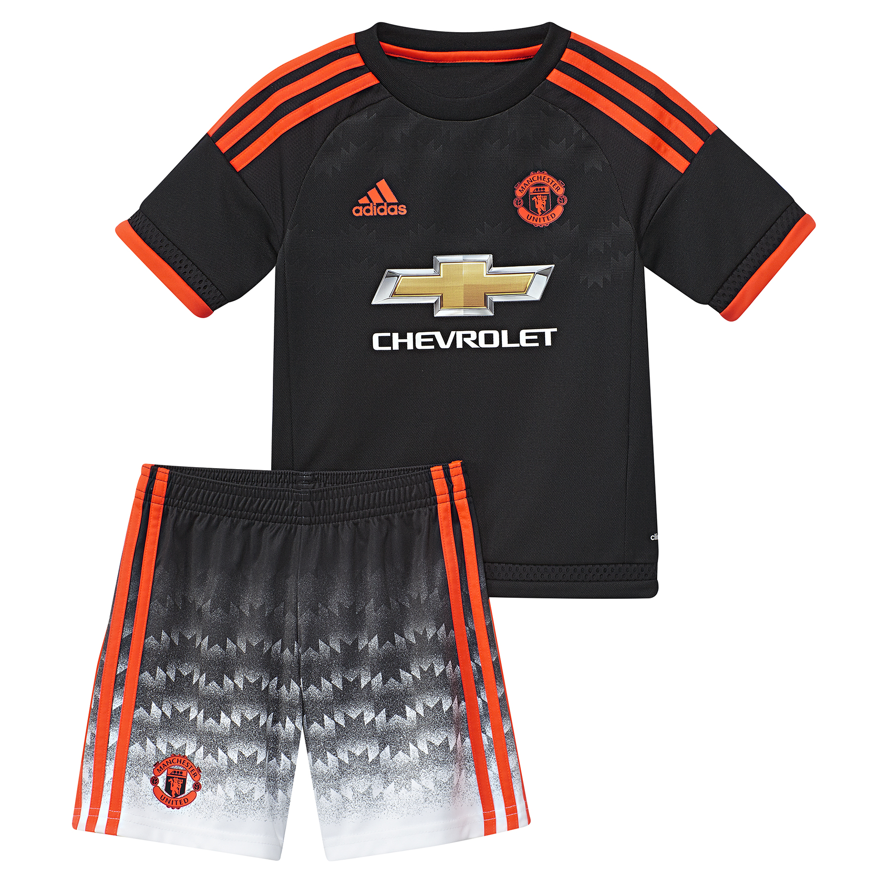 Manchester United Third Mini Kit 201516 Black