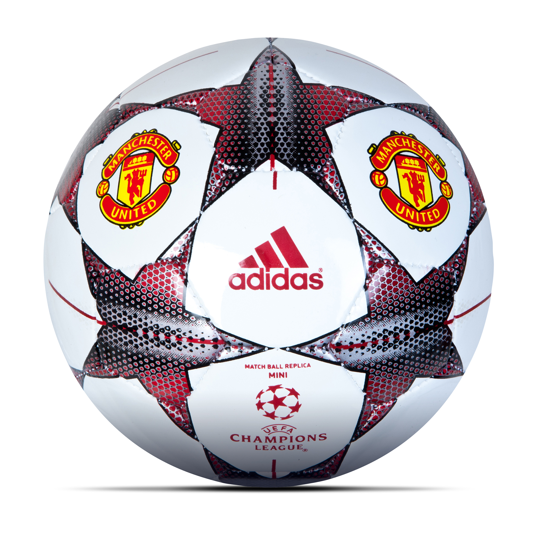 Manchester United Finale 15 Mini Football White