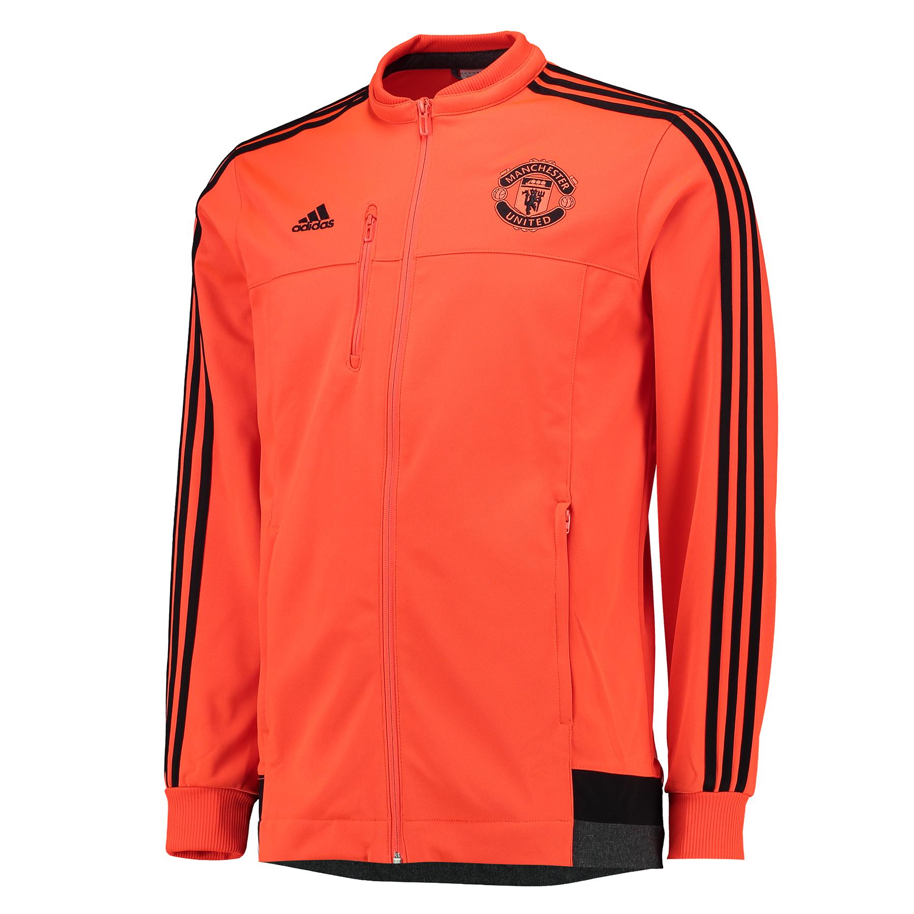 Manchester United Anthem Jacket  Orange Orange