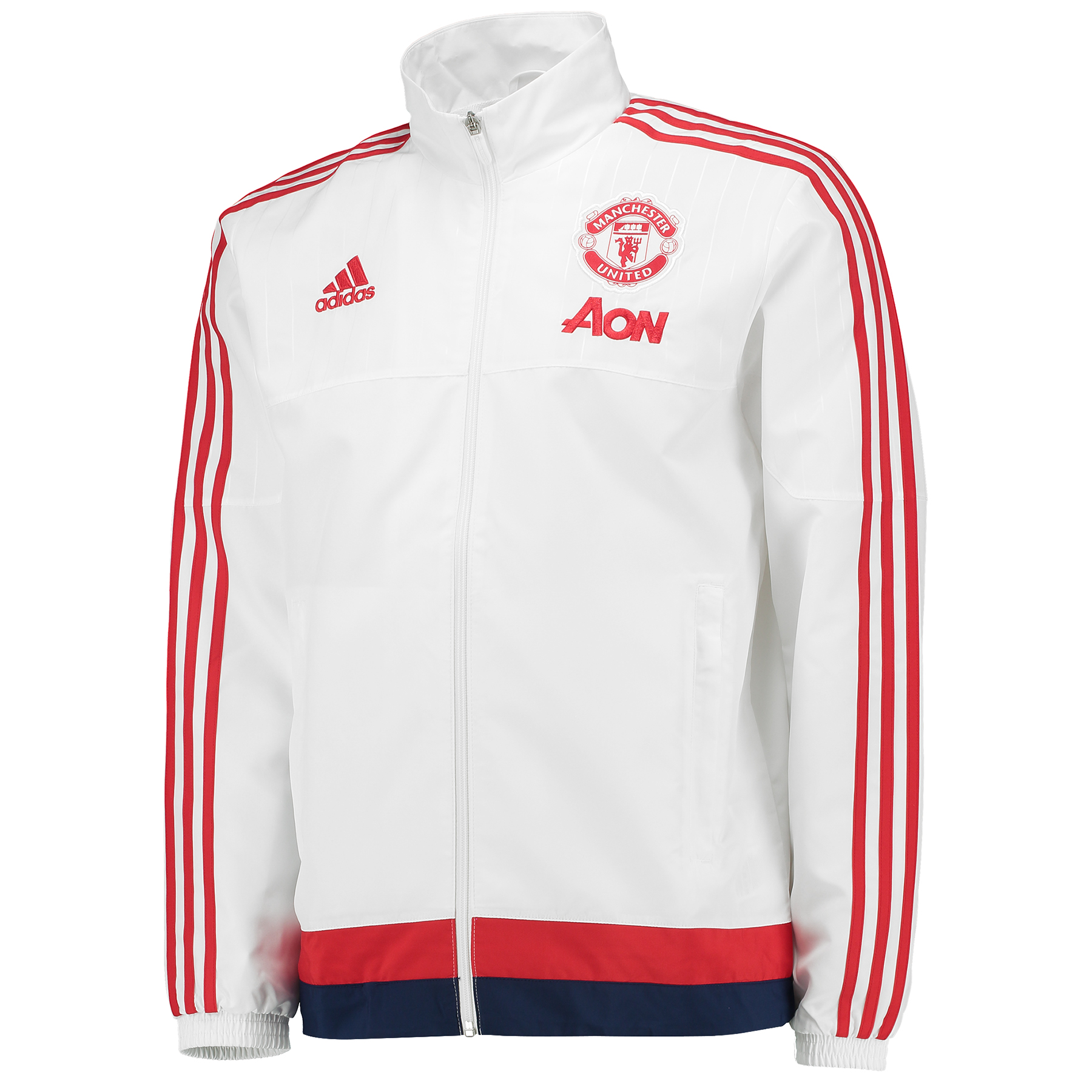 Manchester United Presentation Jacket White