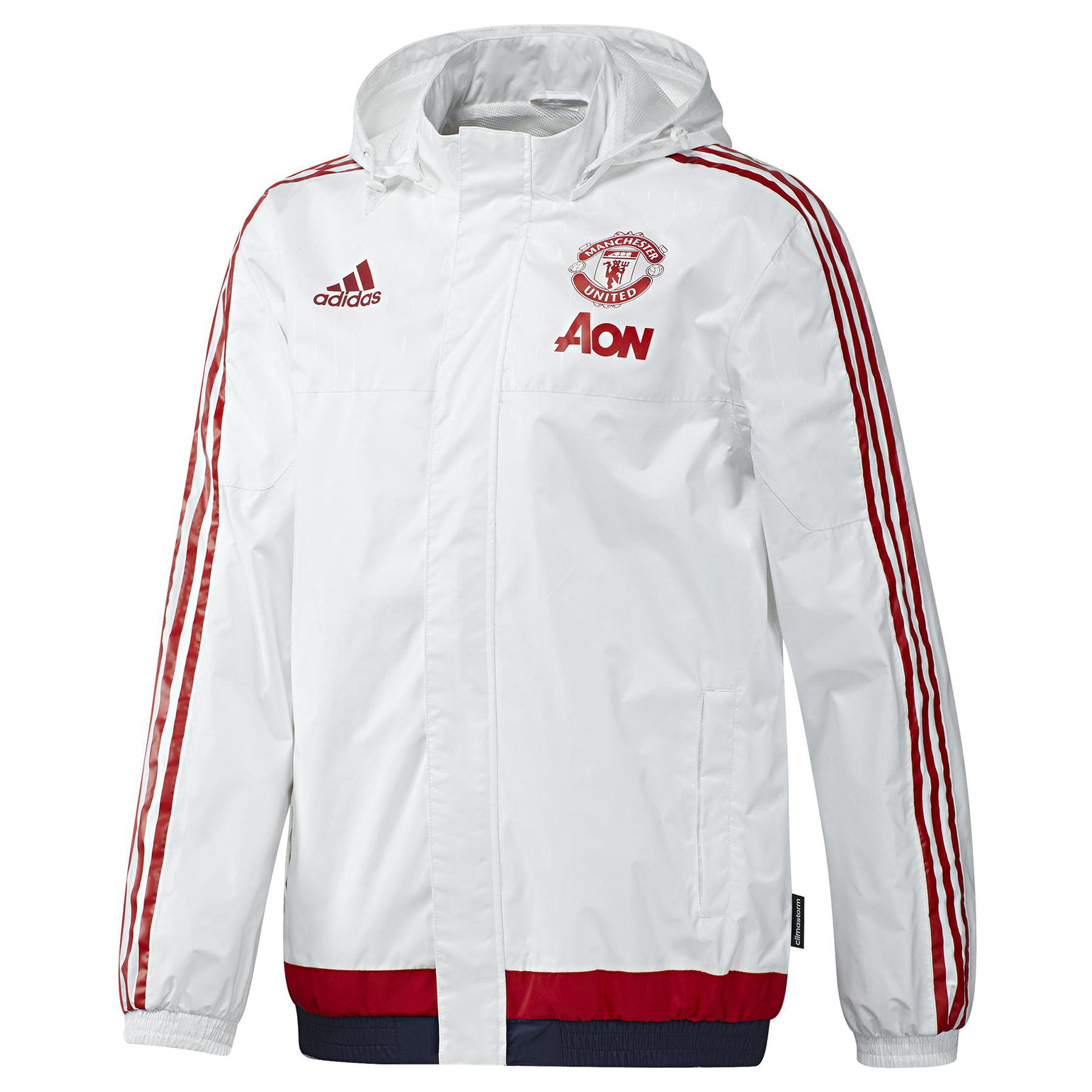 Manchester United All Weather Jacket White
