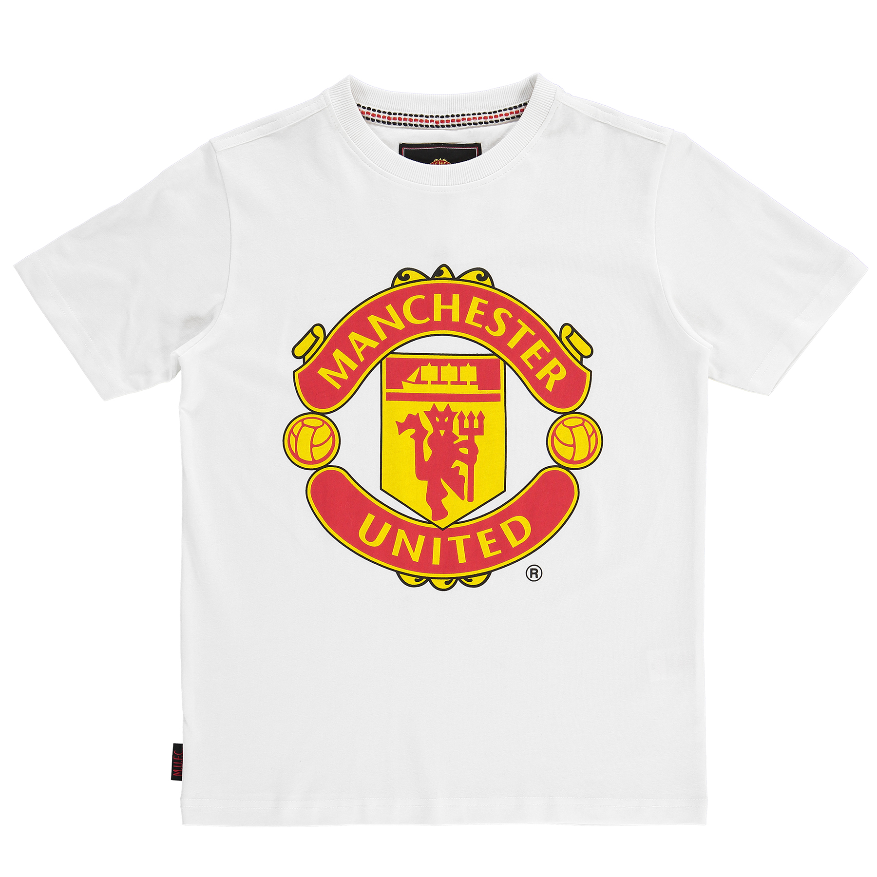 Manchester United Essential T-Shirt - White - Kids
