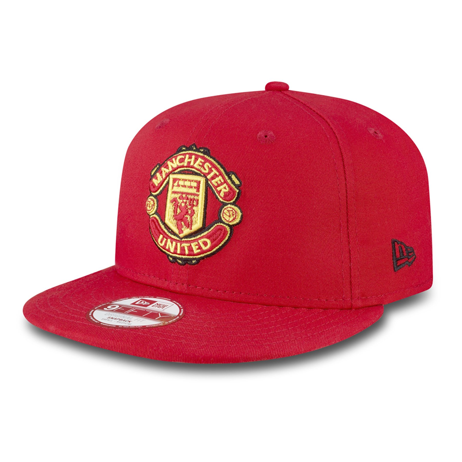Manchester United New Era Basic 9FIFTY Snapback Cap - Red Adult